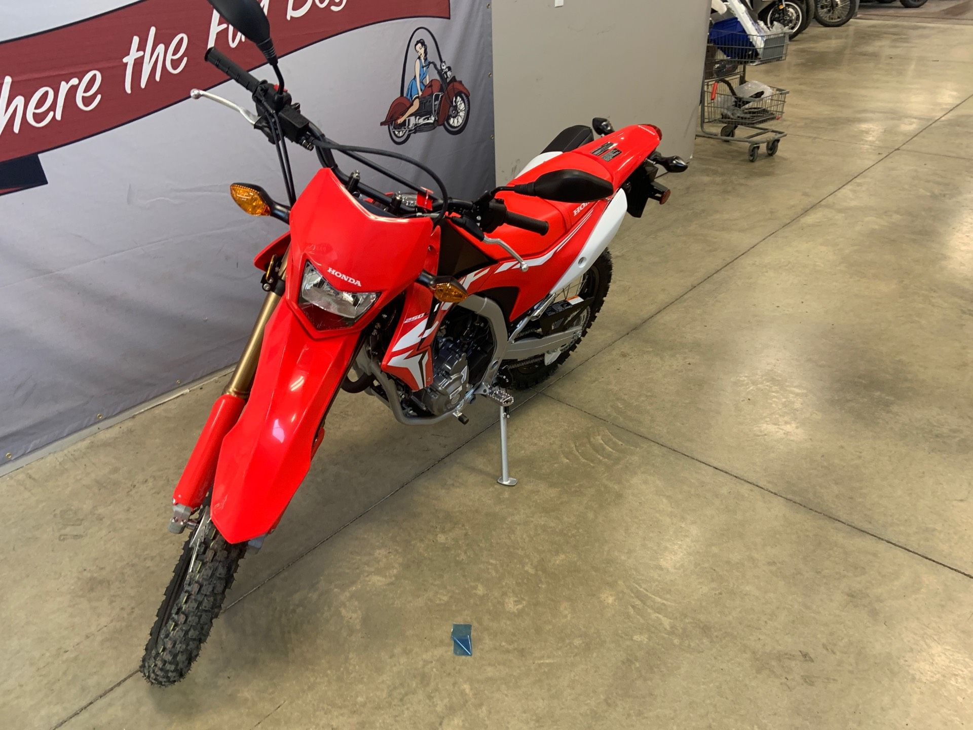 2019 Honda CRF250L ABS in O Fallon, Illinois - Photo 2