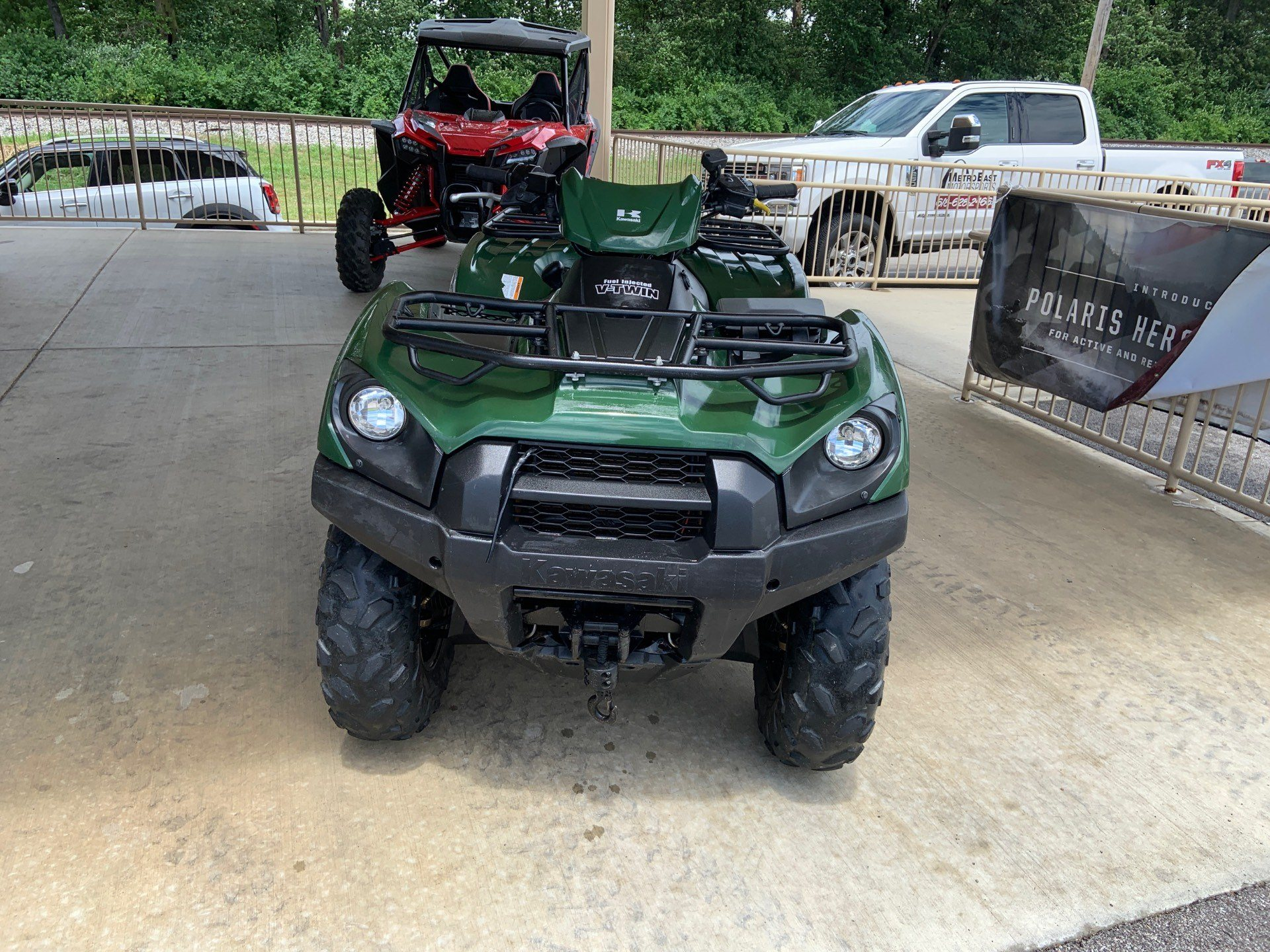 2017 Kawasaki Brute Force 750 4x4i EPS in O Fallon, Illinois - Photo 4