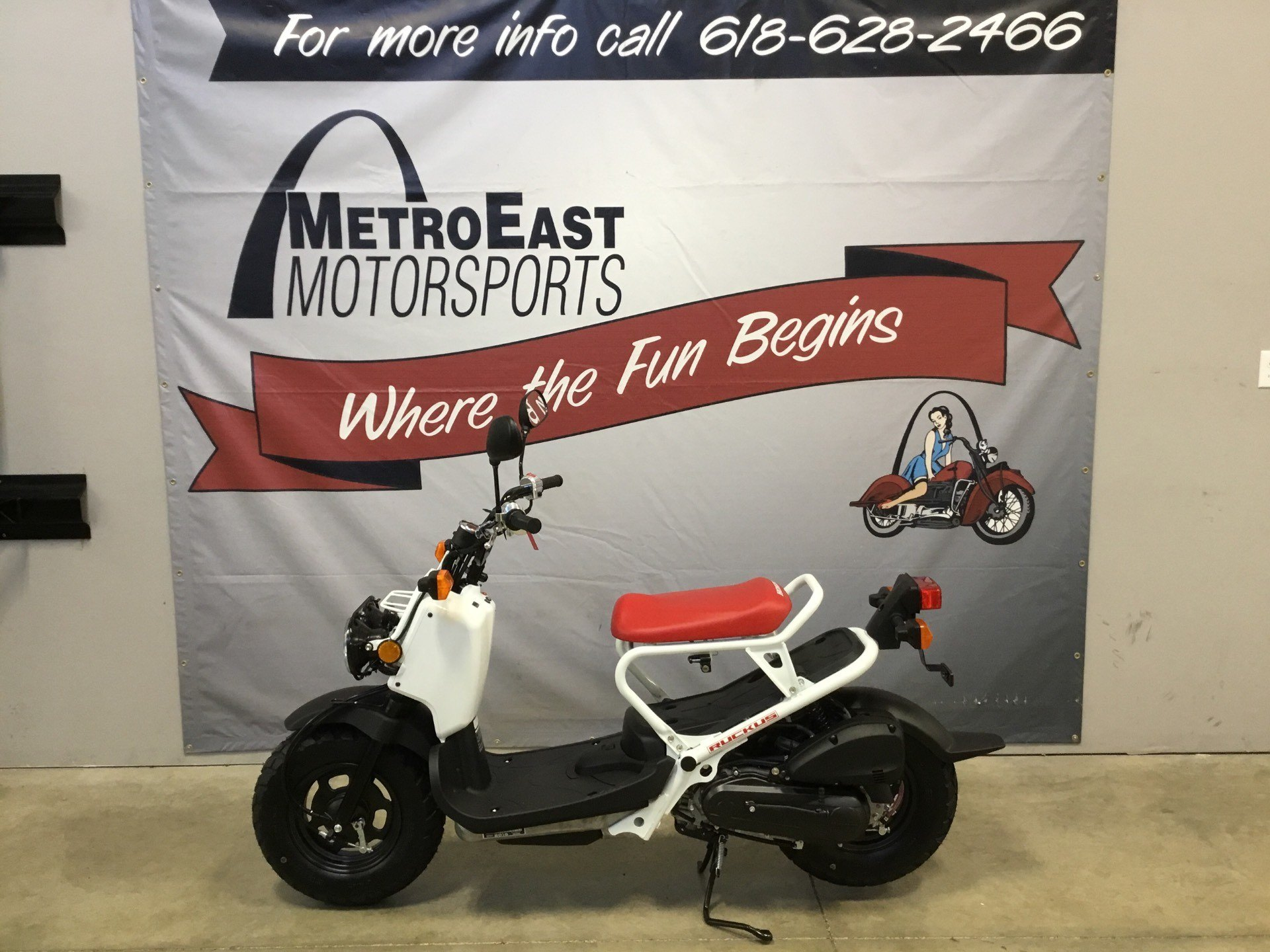 New 2019 Honda Ruckus Scooters In O Fallon Il Stock Number H9kk702