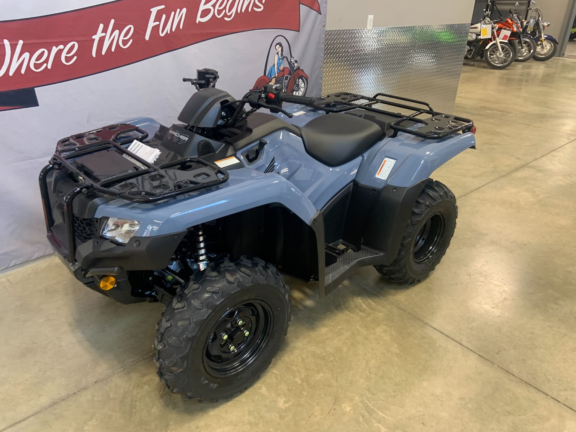 2021 Honda FourTrax Rancher 4x4 Automatic DCT EPS in O Fallon, Illinois - Photo 1