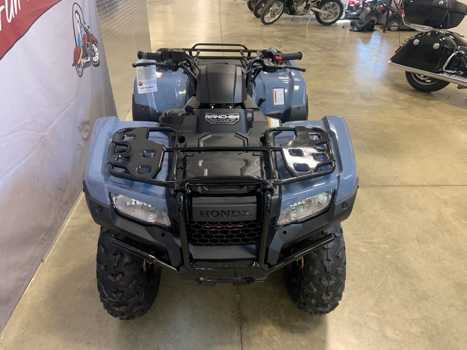 2021 Honda FourTrax Rancher 4x4 Automatic DCT EPS in O Fallon, Illinois - Photo 3