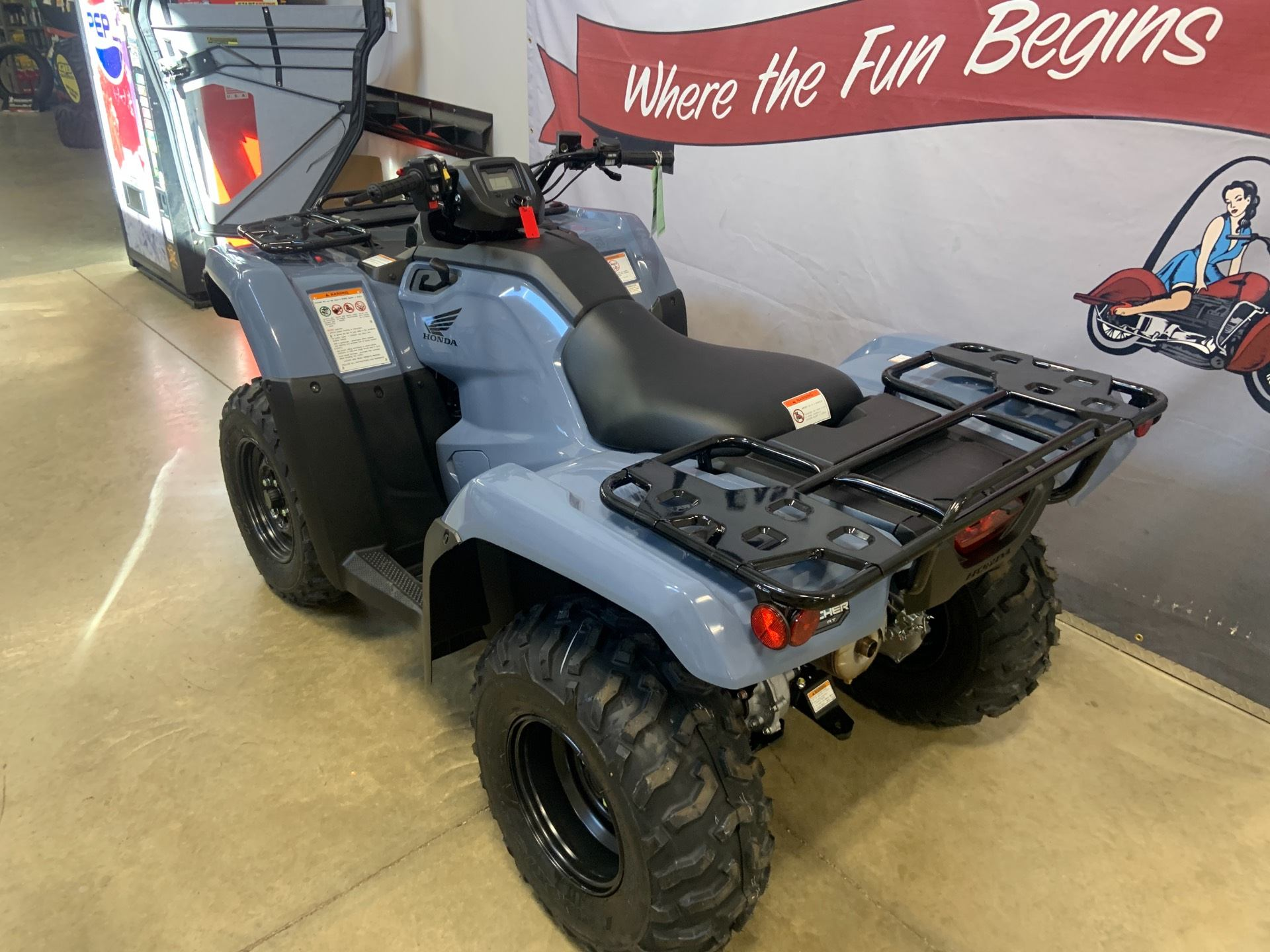 2021 Honda FourTrax Rancher 4x4 Automatic DCT EPS in O Fallon, Illinois - Photo 4