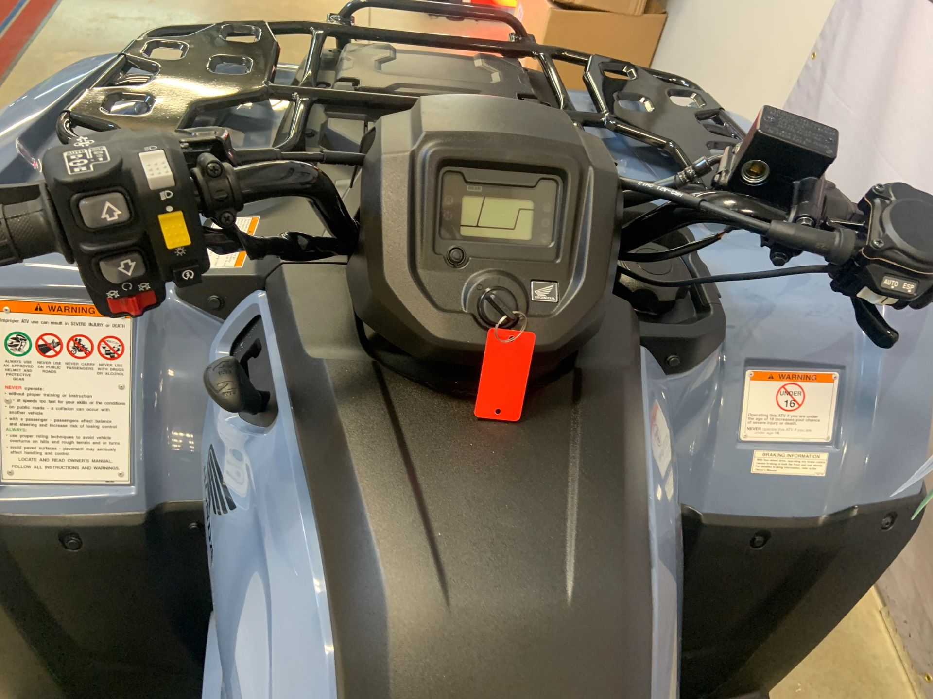 2021 Honda FourTrax Rancher 4x4 Automatic DCT EPS in O Fallon, Illinois - Photo 5