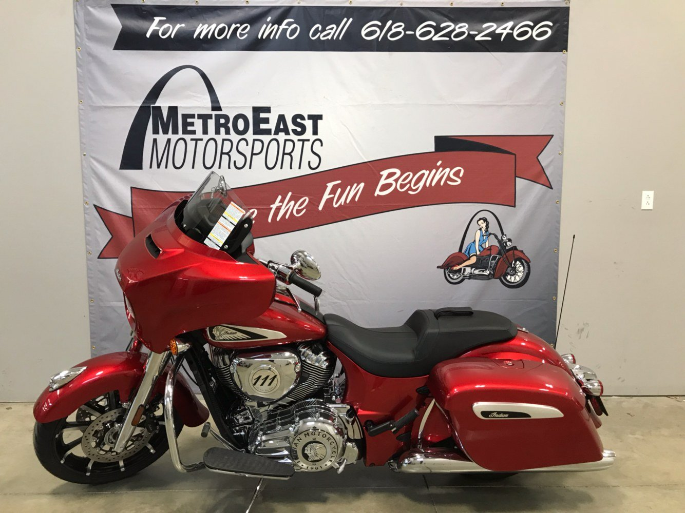 2019 Indian Chieftain® Limited ABS in O Fallon, Illinois - Photo 1