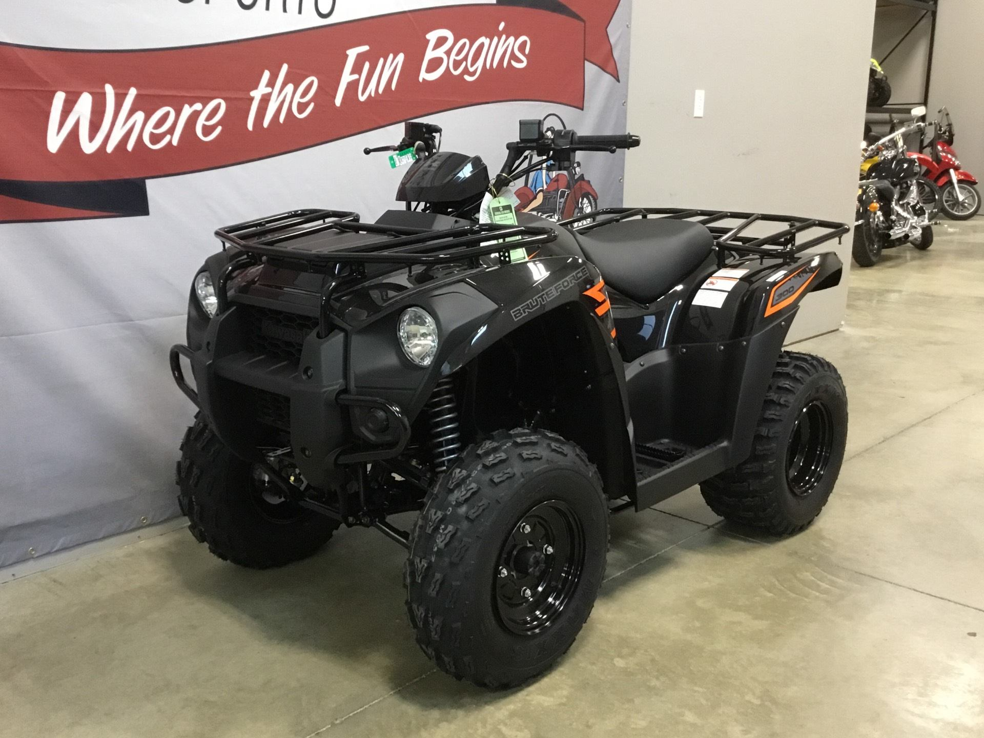 2018 Kawasaki Brute Force 300 in O Fallon, Illinois - Photo 2