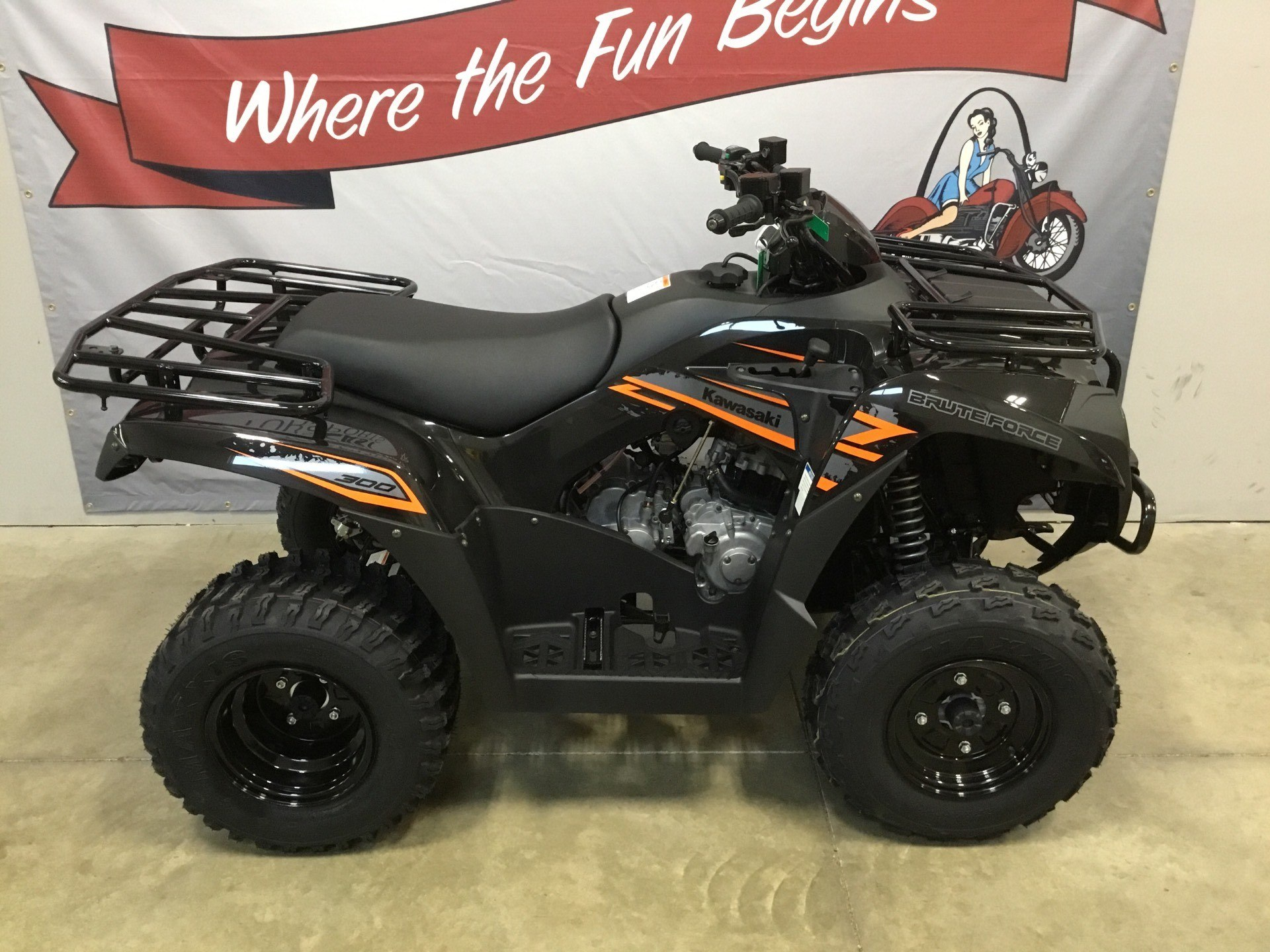 2018 Kawasaki Brute Force 300 in O Fallon, Illinois - Photo 6