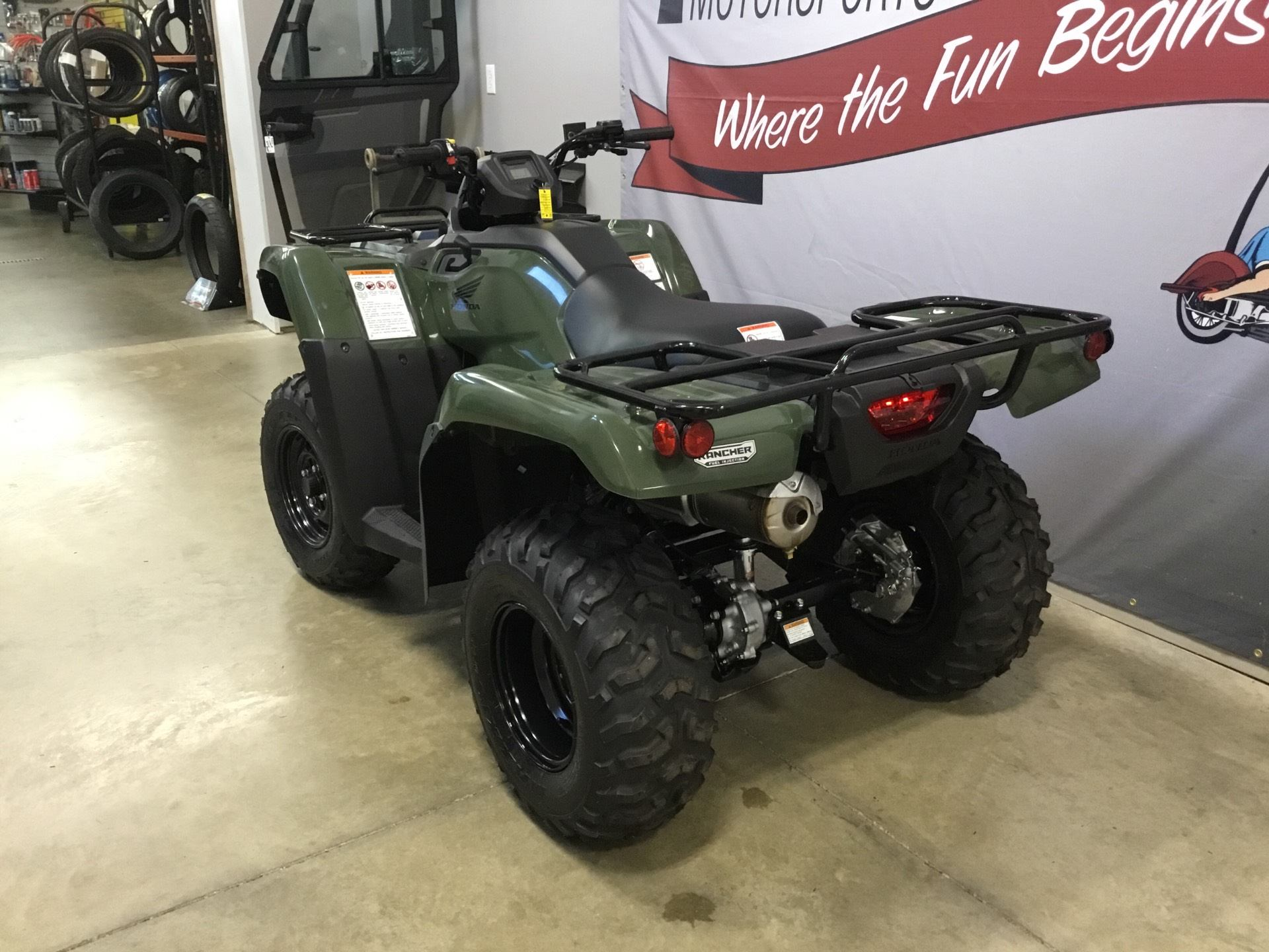 2019 Honda FourTrax Rancher 4x4 in O Fallon, Illinois - Photo 3