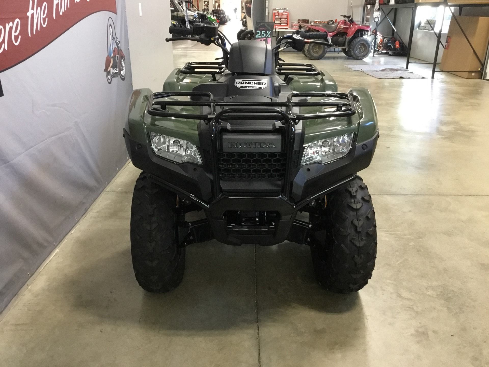 2019 Honda FourTrax Rancher 4x4 in O Fallon, Illinois - Photo 4