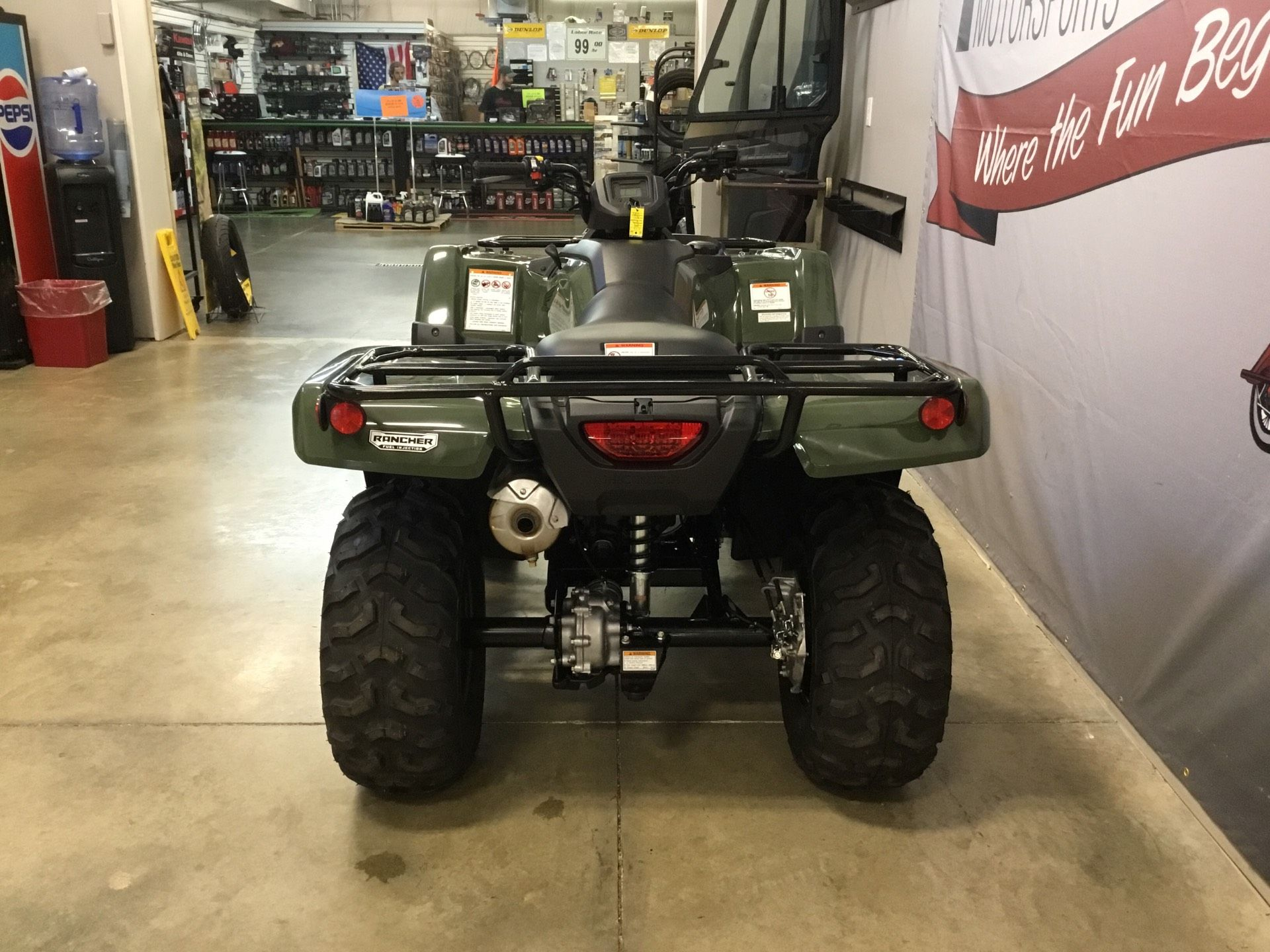 2019 Honda FourTrax Rancher 4x4 in O Fallon, Illinois - Photo 5