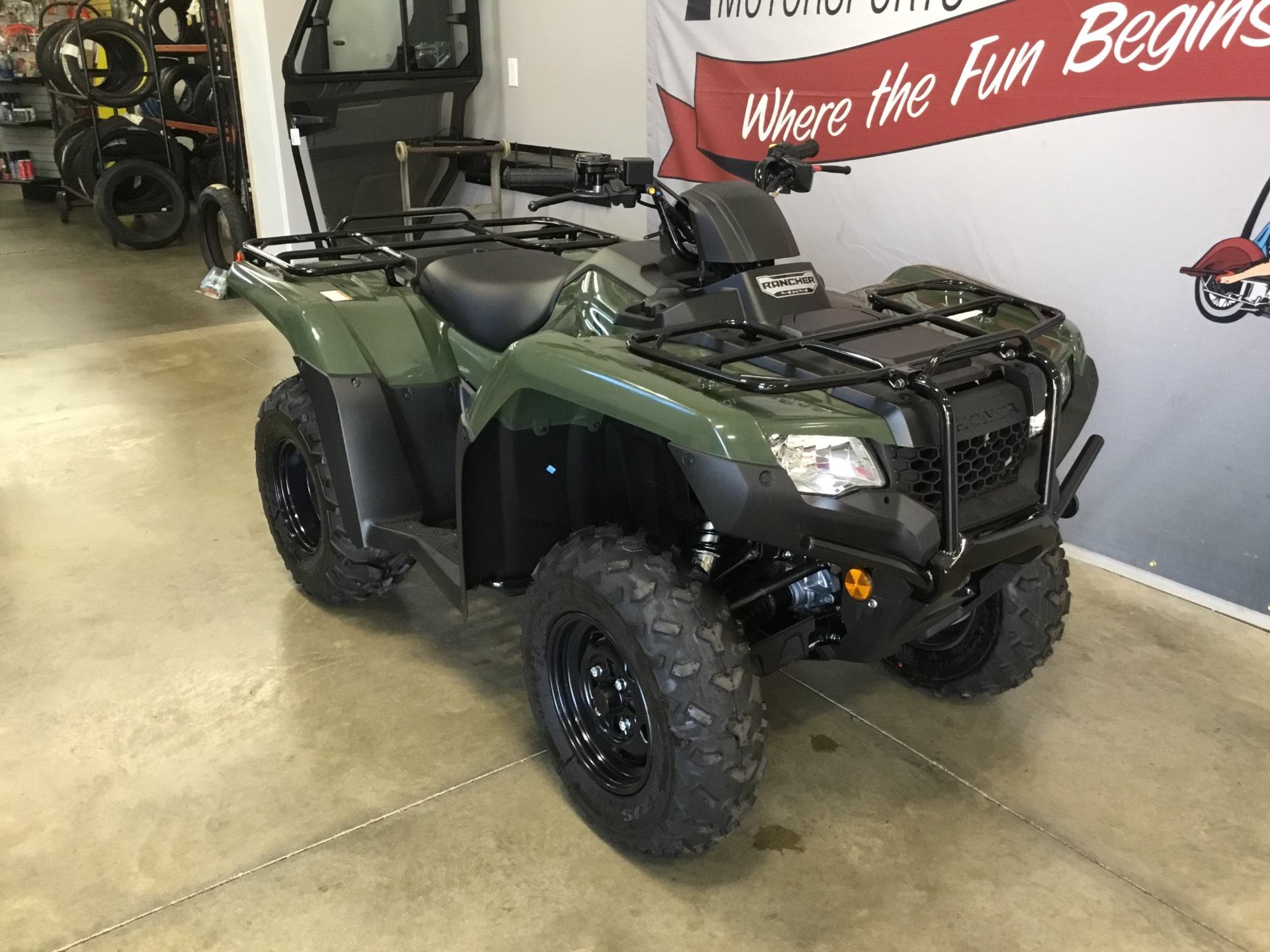 2019 Honda FourTrax Rancher 4x4 in O Fallon, Illinois - Photo 7