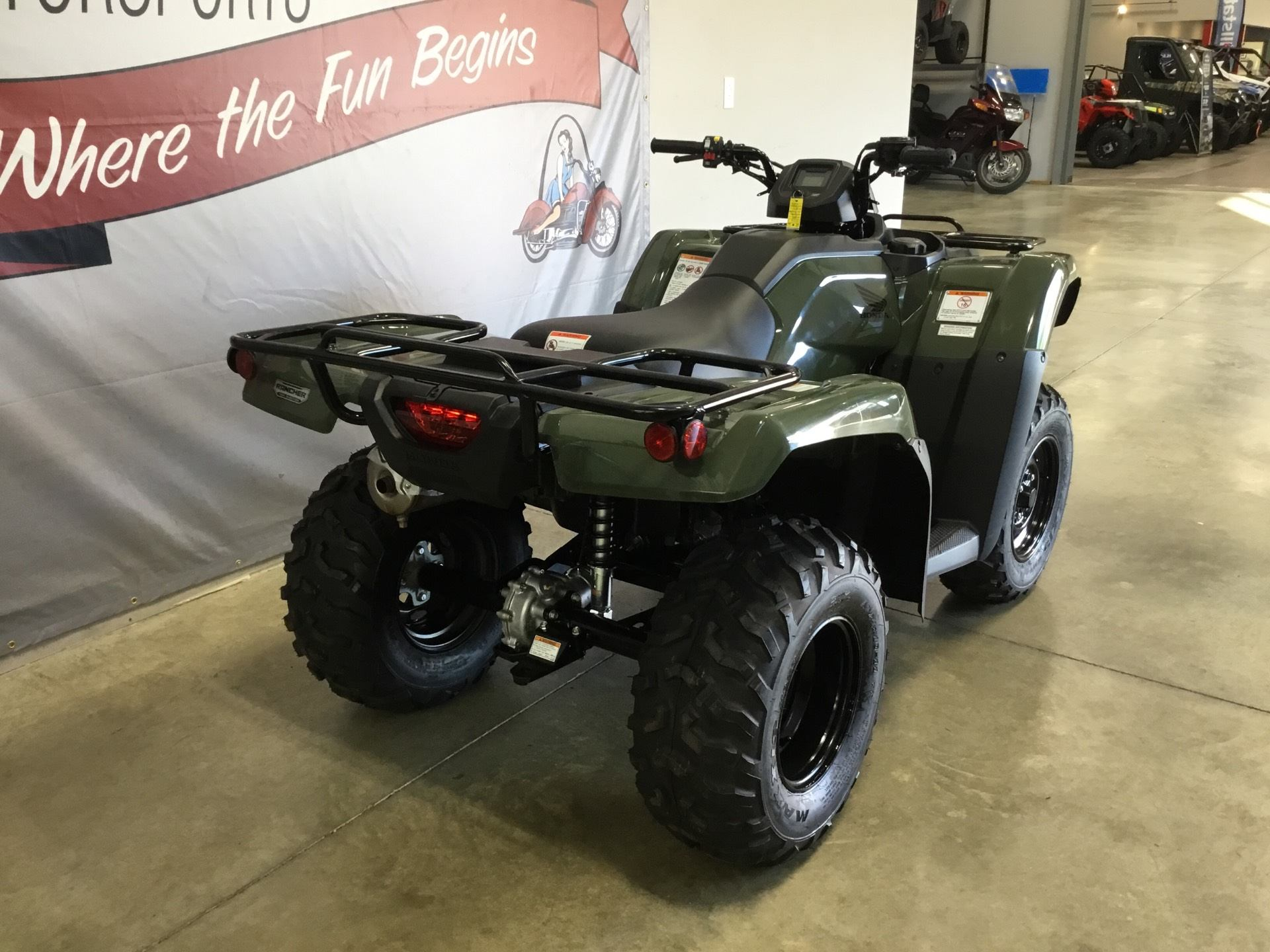 2019 Honda FourTrax Rancher 4x4 in O Fallon, Illinois - Photo 8