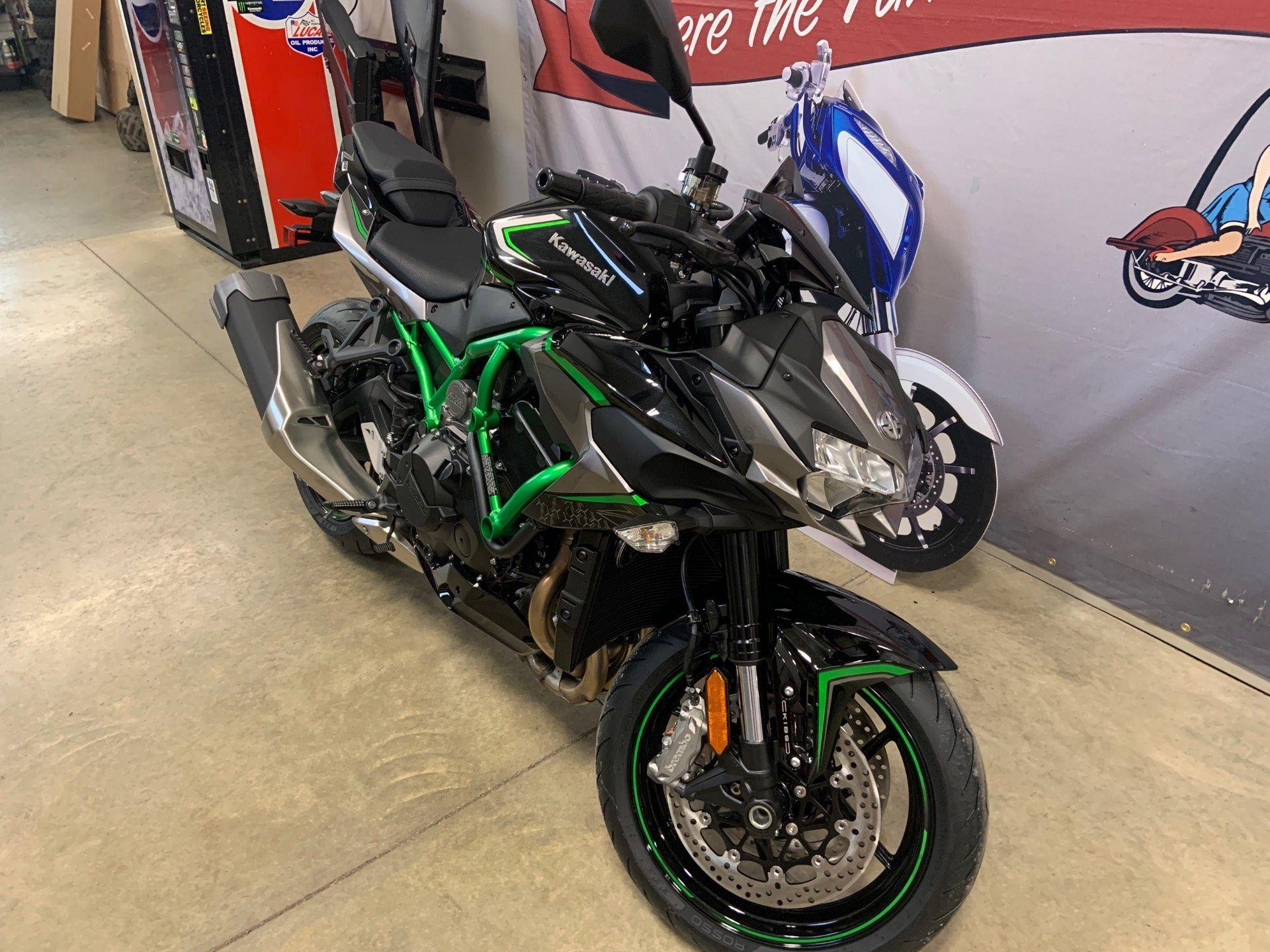 The New 2020 Kawasaki Z H2