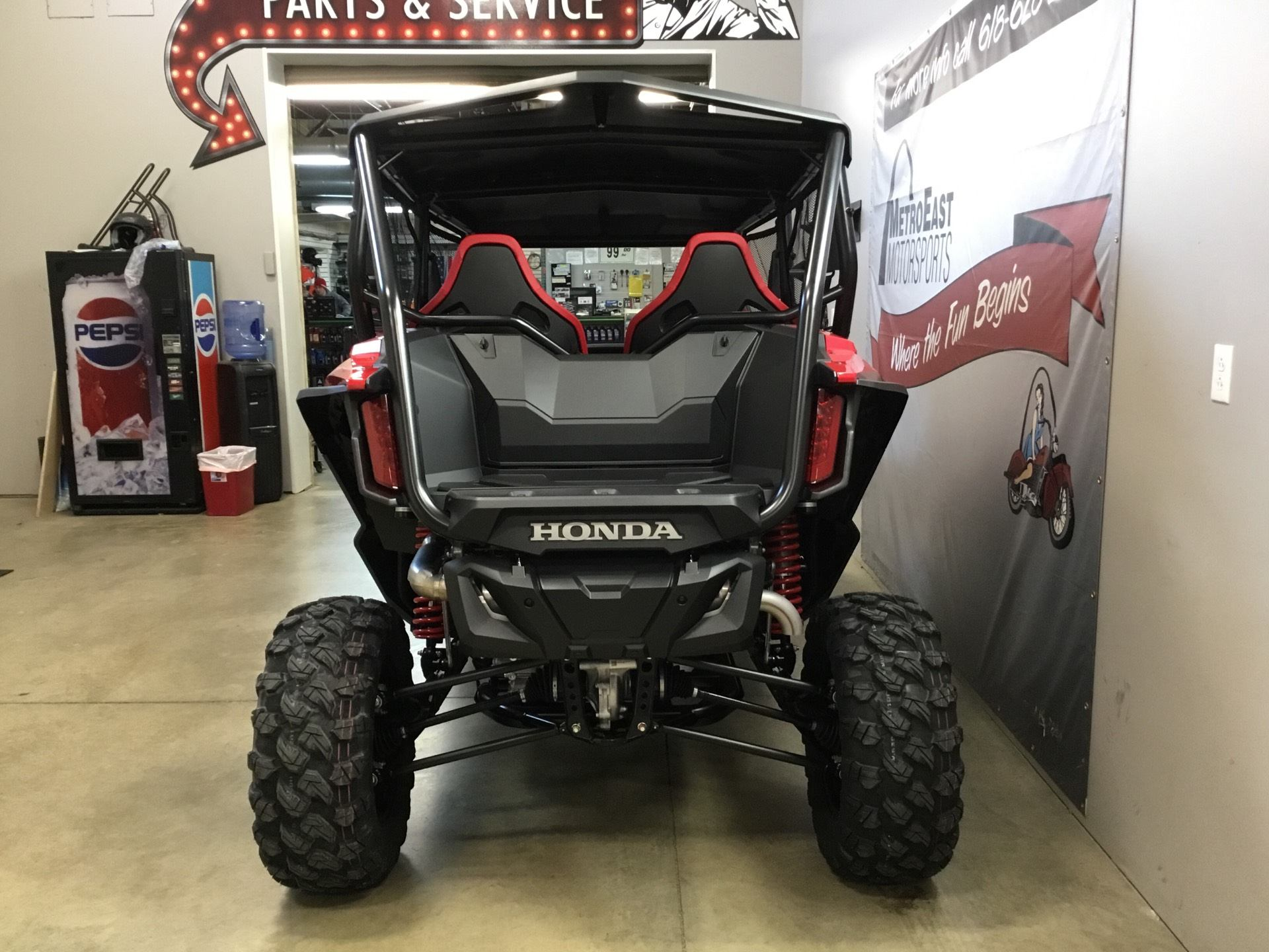 2020 Honda Talon 1000X-4 in O Fallon, Illinois - Photo 5