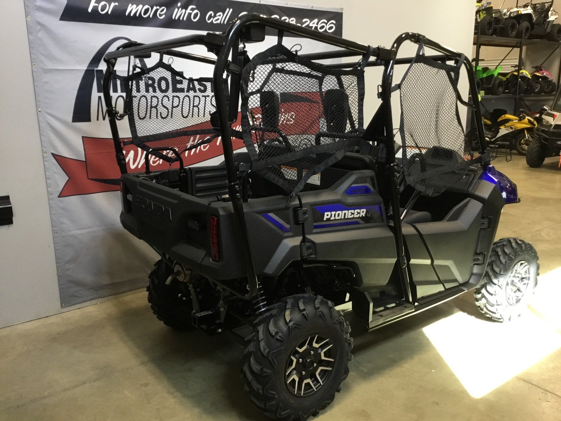2019 Honda Pioneer 700-4 Deluxe in O Fallon, Illinois - Photo 3