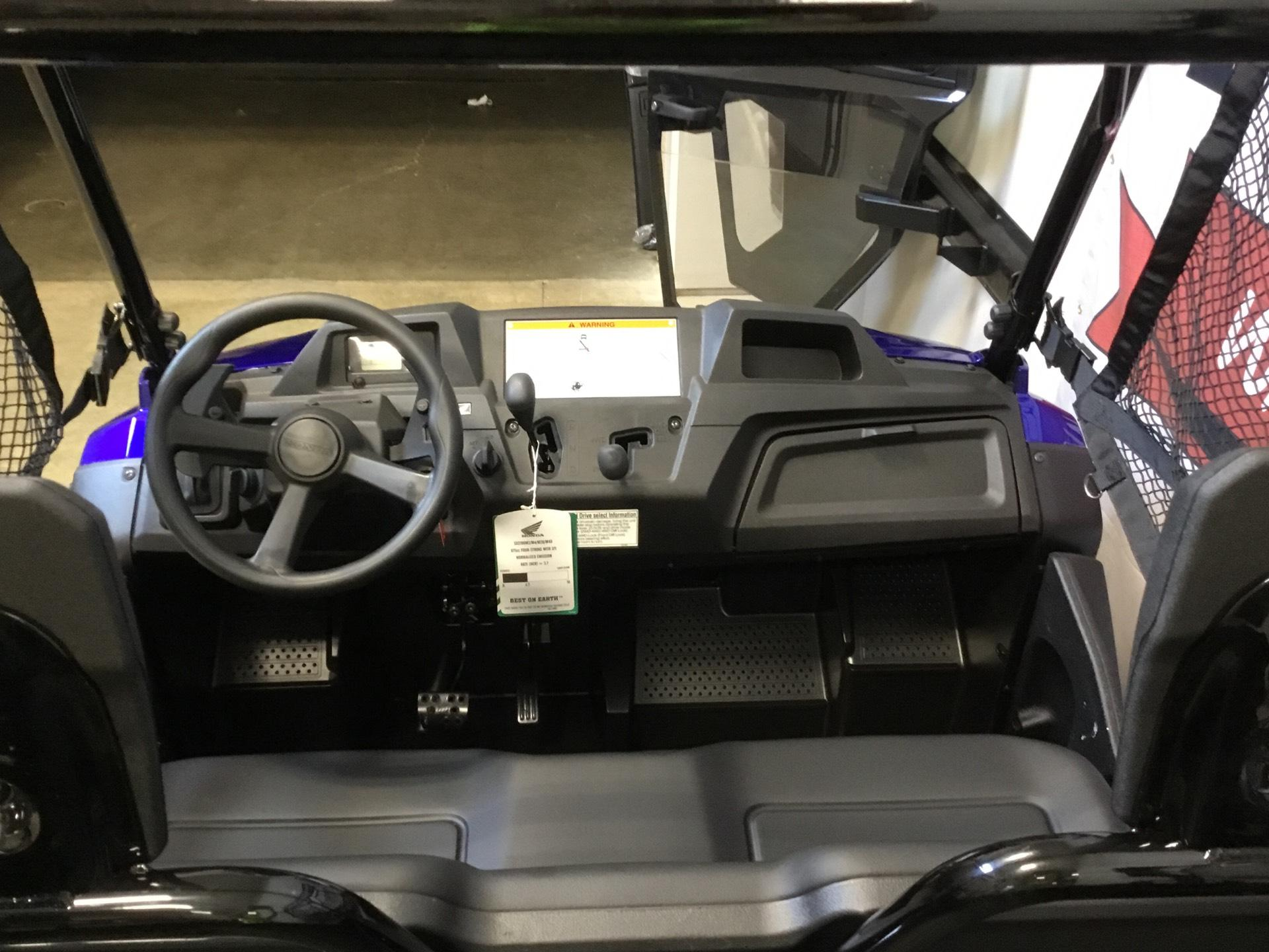 2019 Honda Pioneer 700-4 Deluxe in O Fallon, Illinois - Photo 11