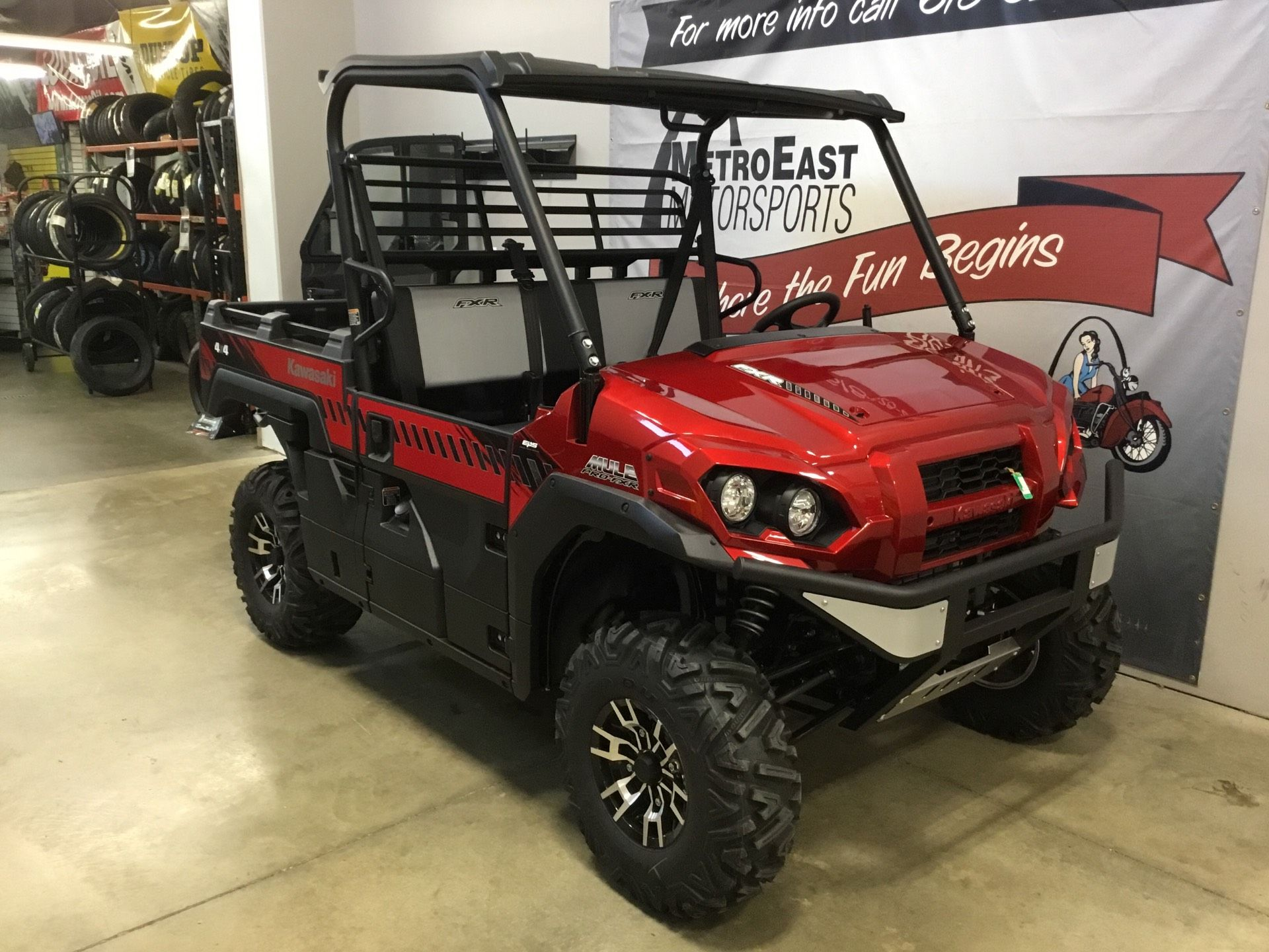 2020 Kawasaki Mule PRO-FXR in O Fallon, Illinois - Photo 7