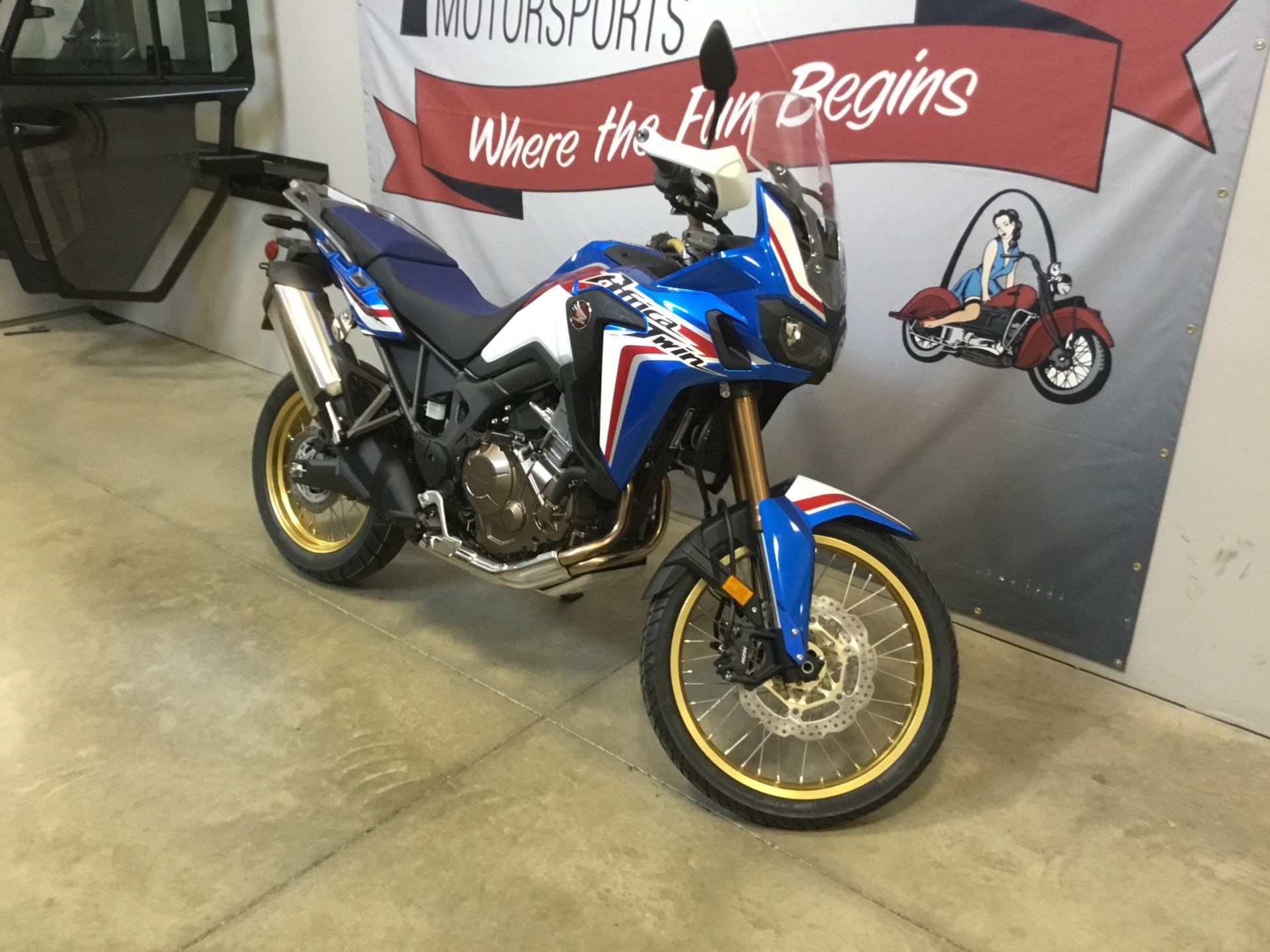 2019 Honda Africa Twin in O Fallon, Illinois