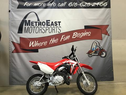 2021 Honda CRF110F in O Fallon, Illinois - Photo 1