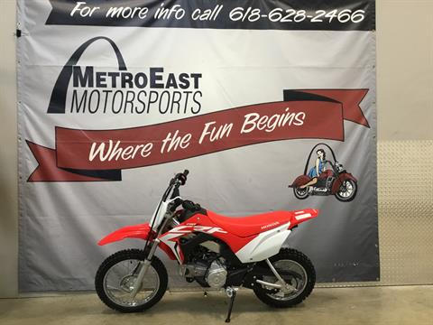 2021 Honda CRF110F in O Fallon, Illinois - Photo 2