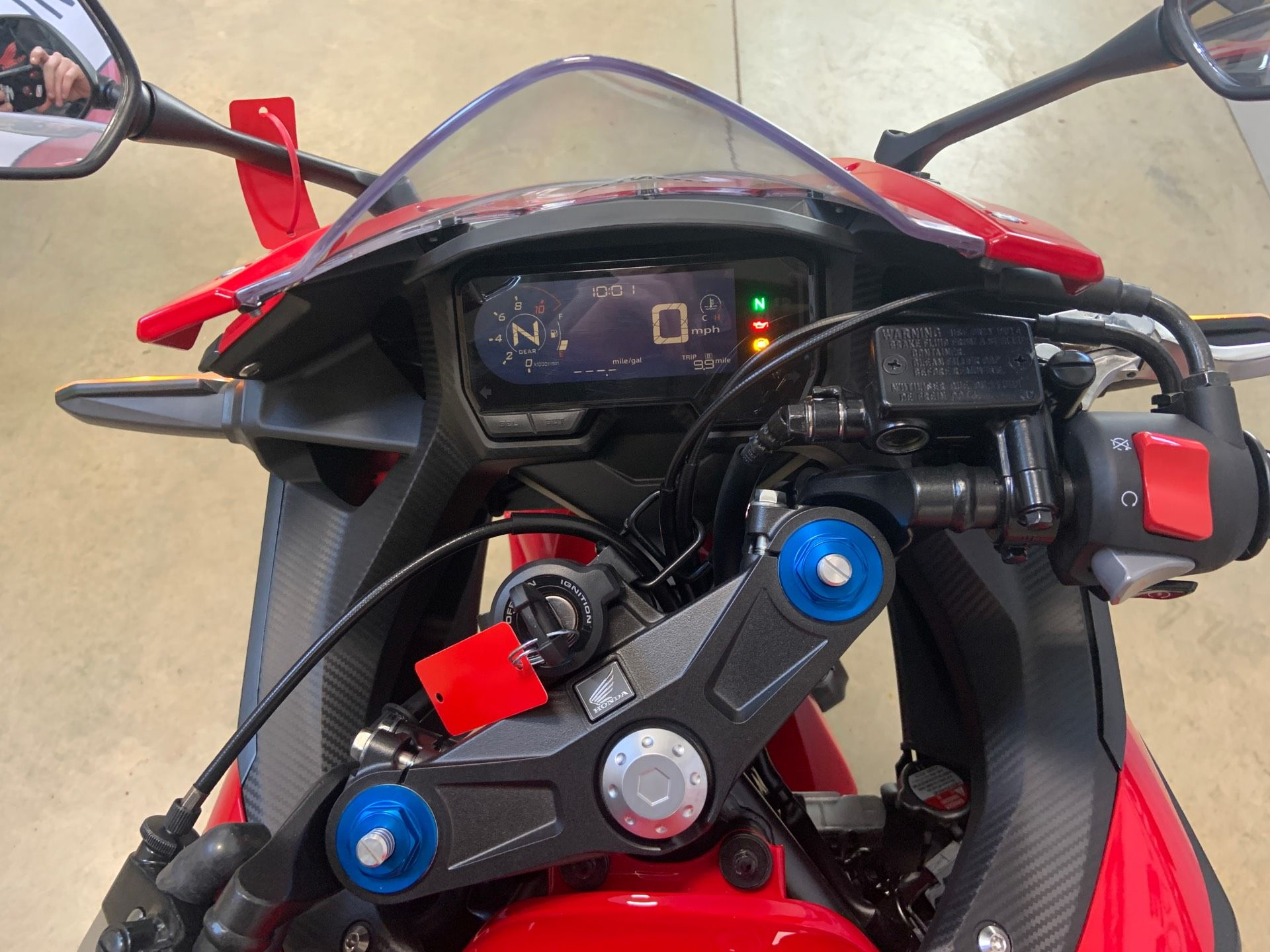 2019 Honda CBR500R ABS in O Fallon, Illinois - Photo 8