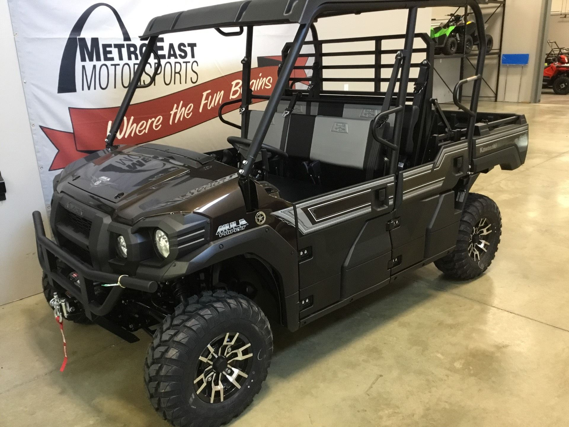 2020 Kawasaki Mule PRO-FXT Ranch Edition in O Fallon, Illinois - Photo 2