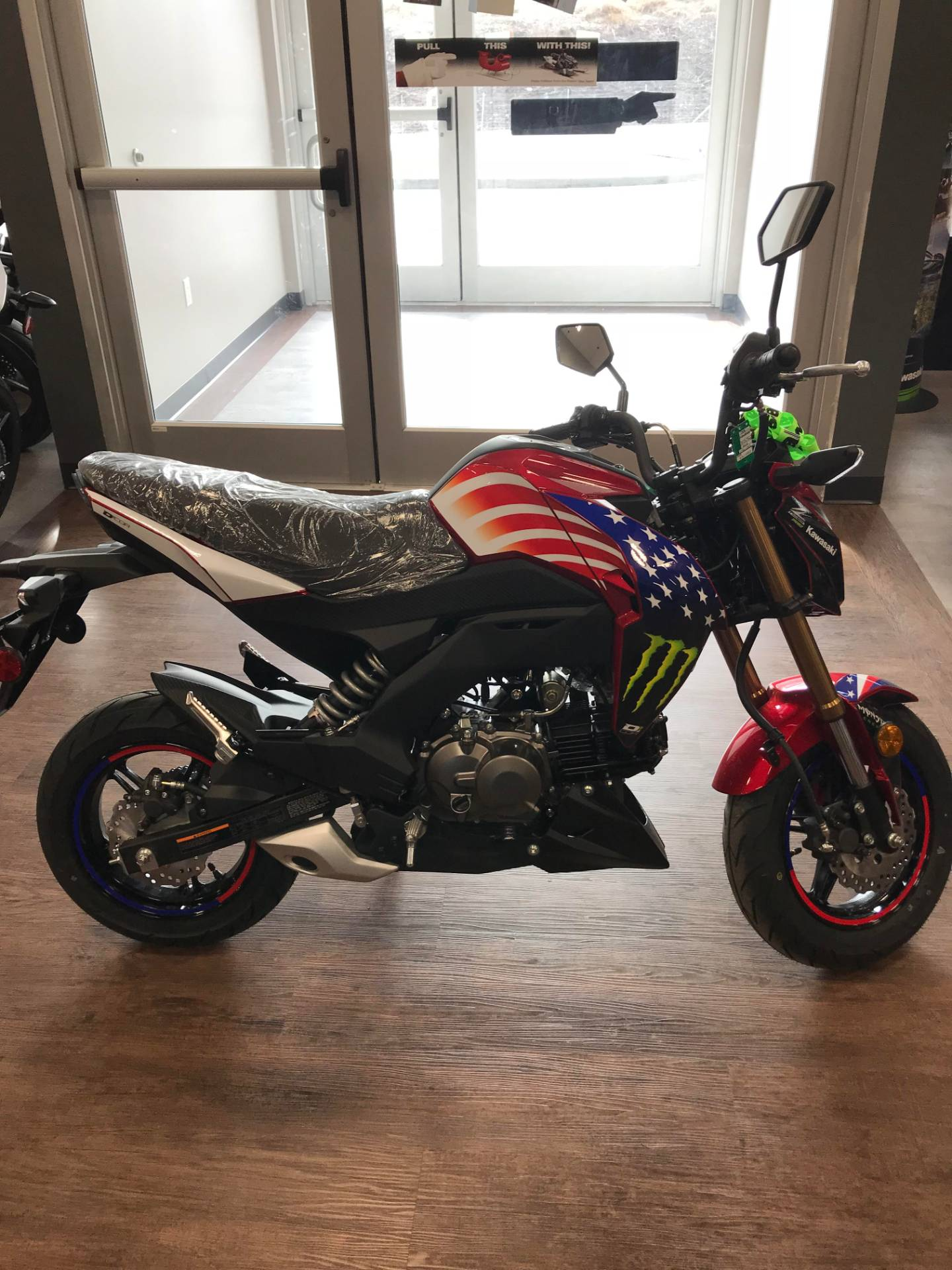 2018 Kawasaki Z125 Pro 1