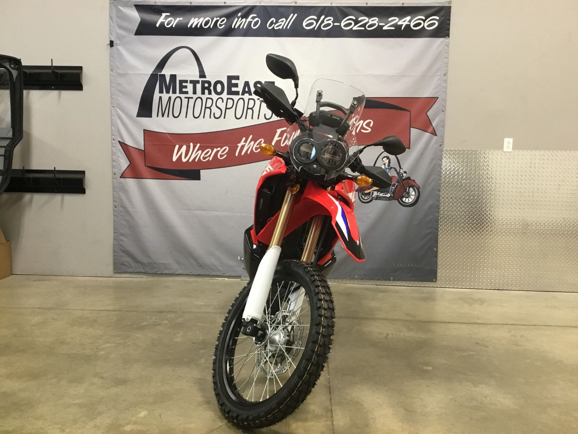 2020 Honda CRF250L Rally in O Fallon, Illinois - Photo 2