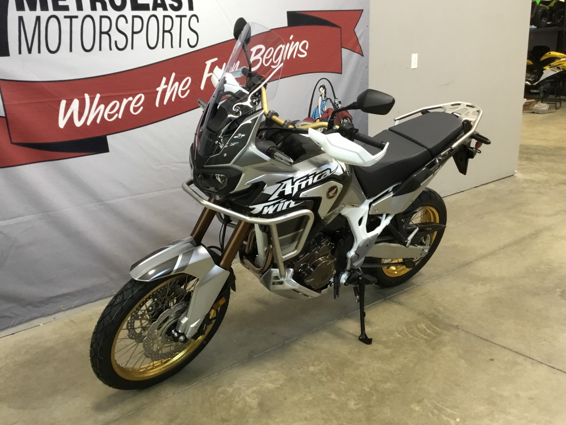 2019 Honda Africa Twin Adventure Sports DCT in O Fallon, Illinois - Photo 2