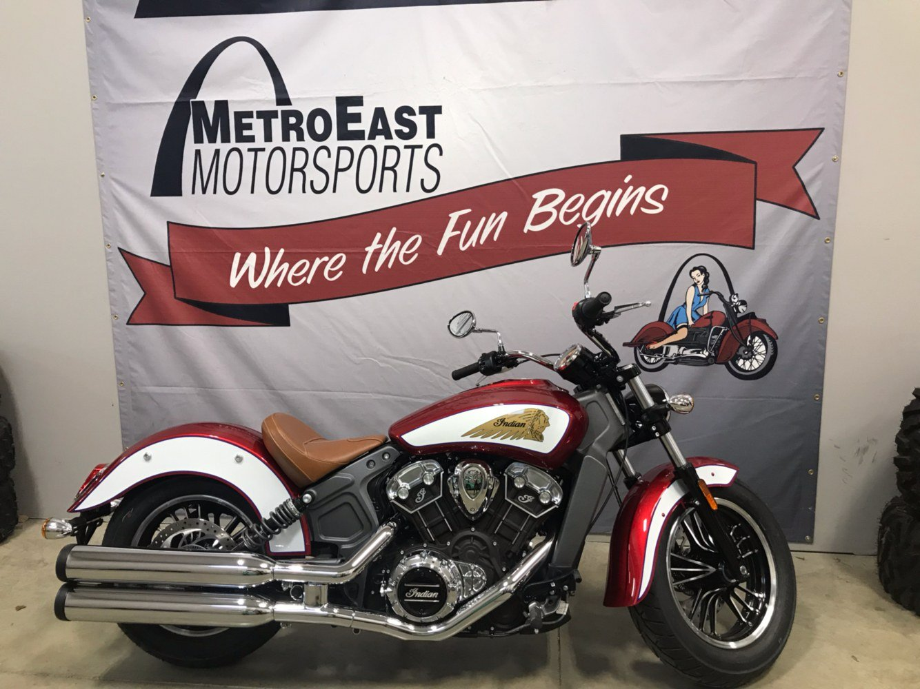 2019 Indian Scout® ABS Icon Series in O Fallon, Illinois
