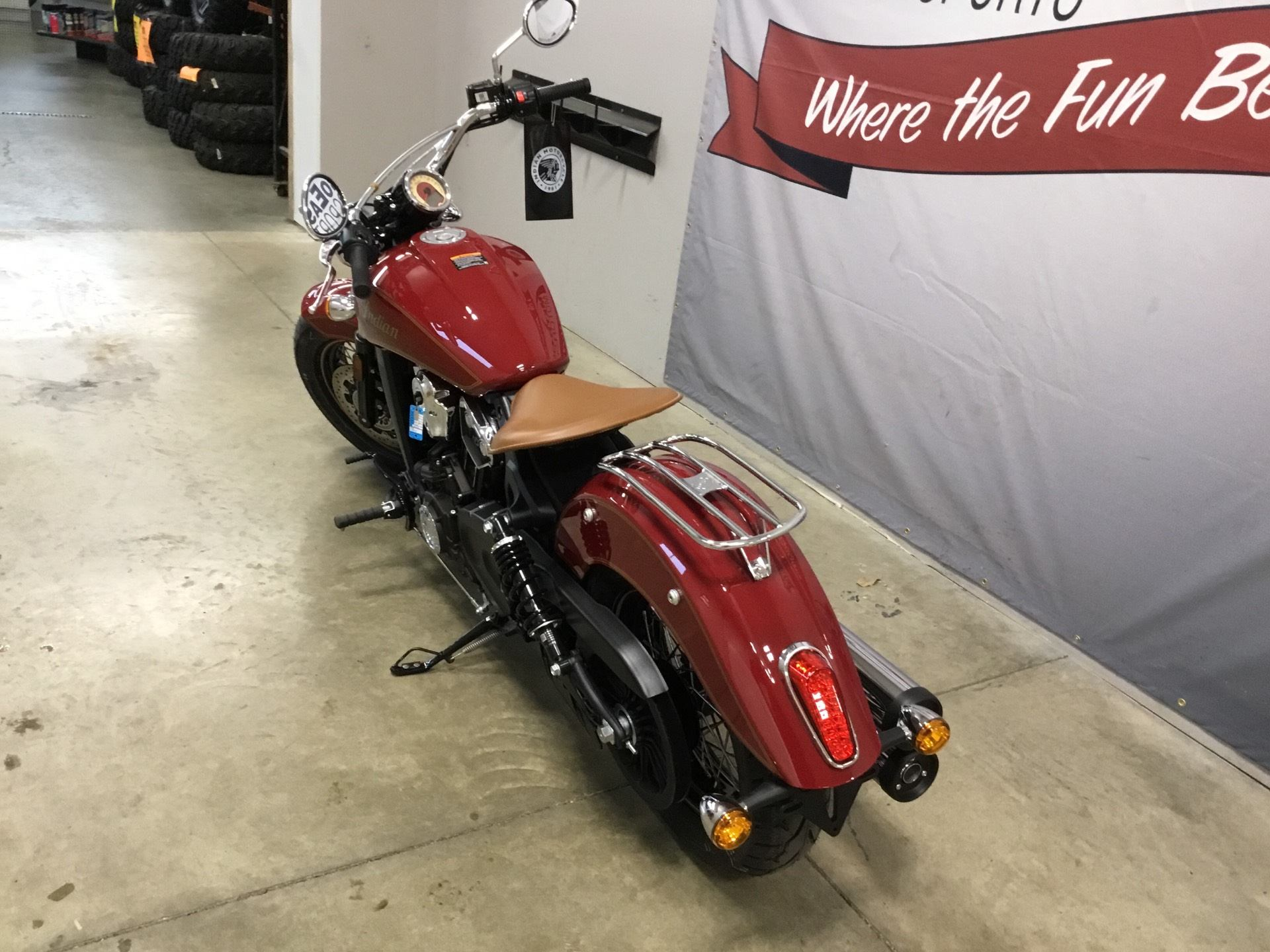 2020 Indian Scout® 100th Anniversary in O Fallon, Illinois - Photo 6