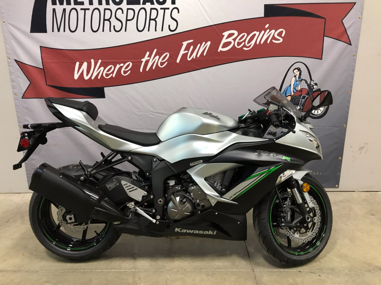 2018 Kawasaki Ninja ZX-6R in O Fallon, Illinois