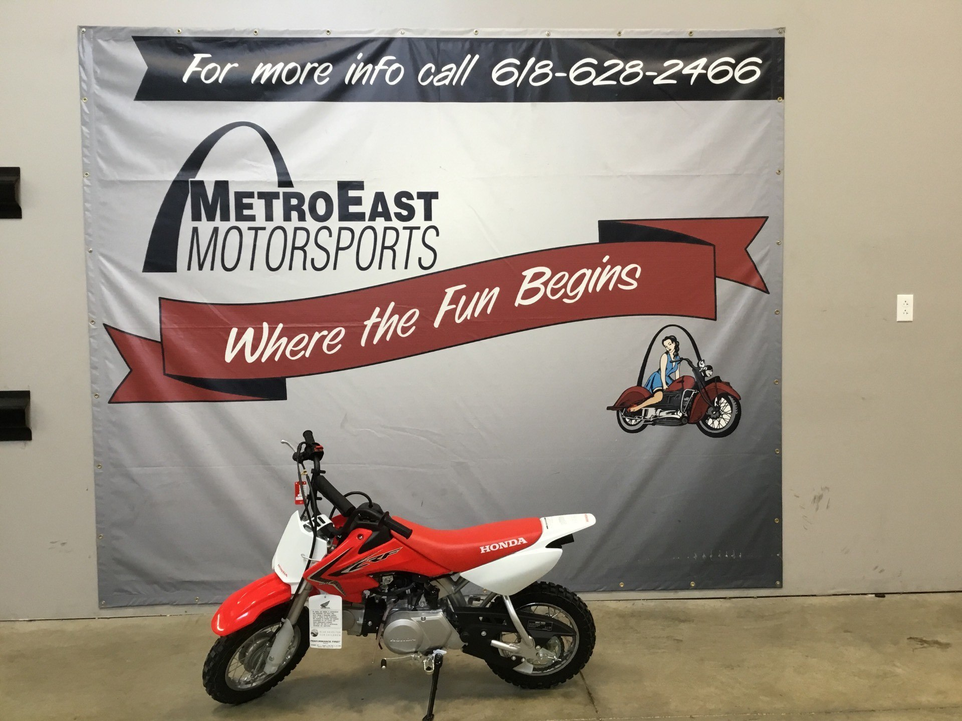 2020 Honda CRF50F in O Fallon, Illinois - Photo 1
