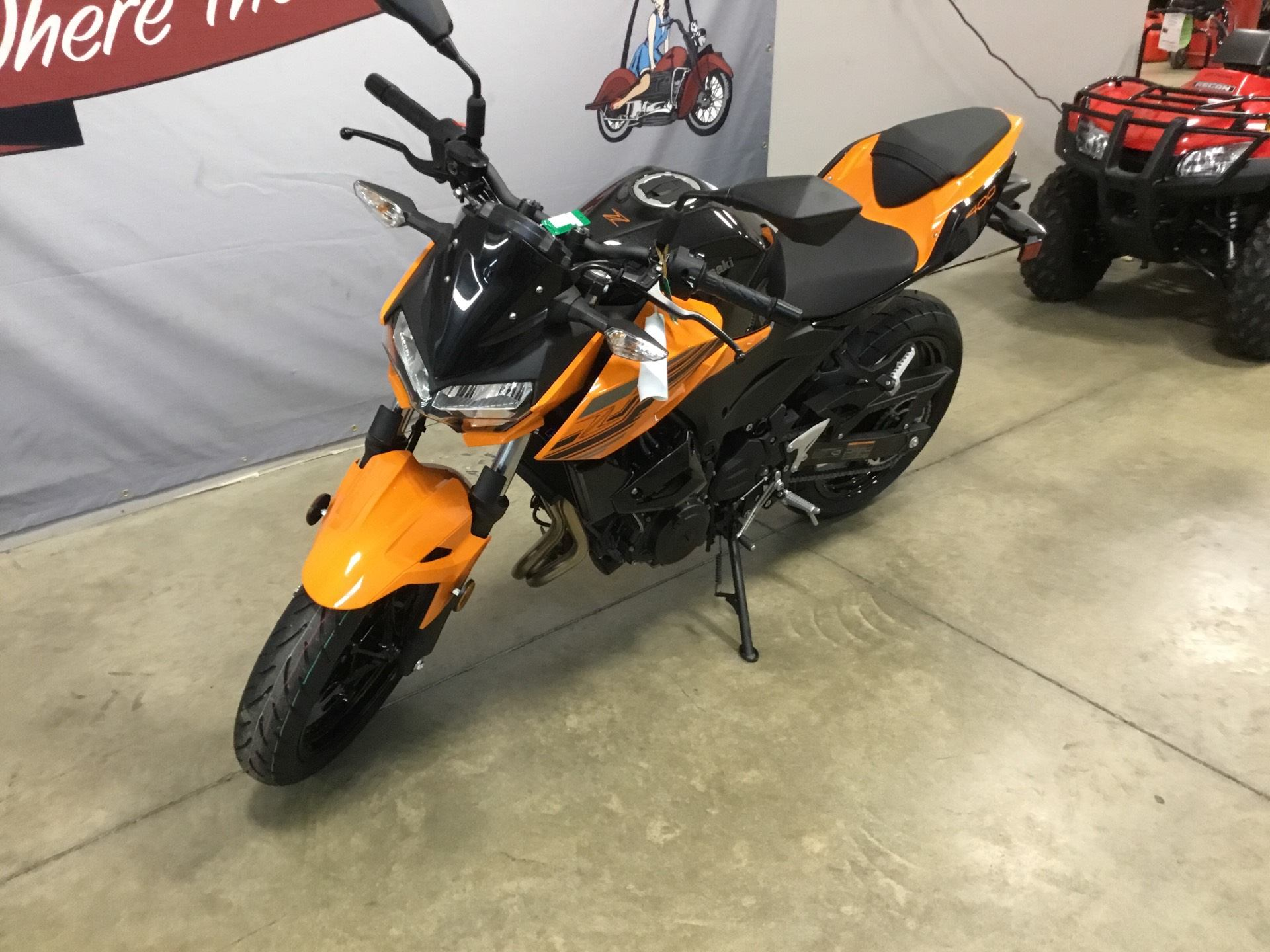 2020 Kawasaki Z400 ABS in O Fallon, Illinois - Photo 2