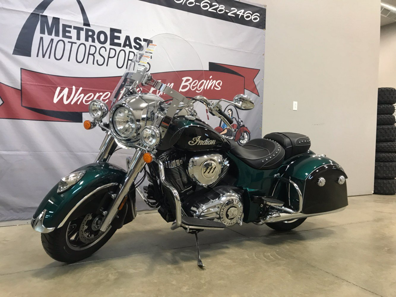 2018 Indian Springfield® ABS in O Fallon, Illinois
