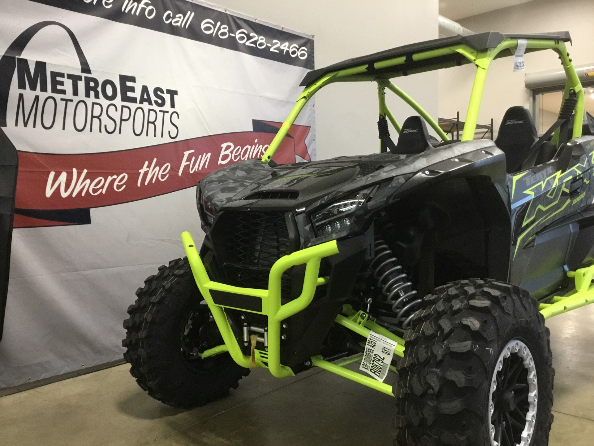 2021 Kawasaki Teryx KRX 1000 Trail Edition in O Fallon, Illinois - Photo 2