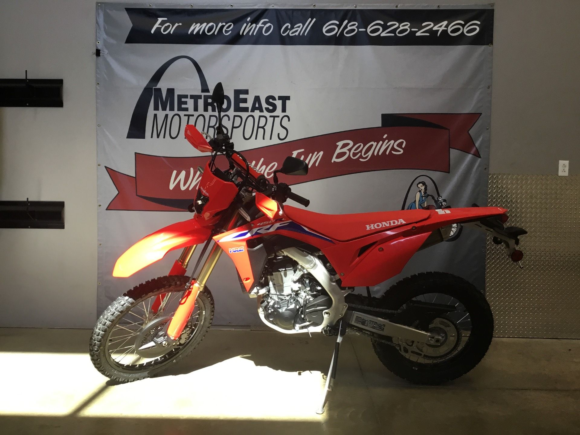 2021 Honda CRF450RL in O Fallon, Illinois - Photo 1