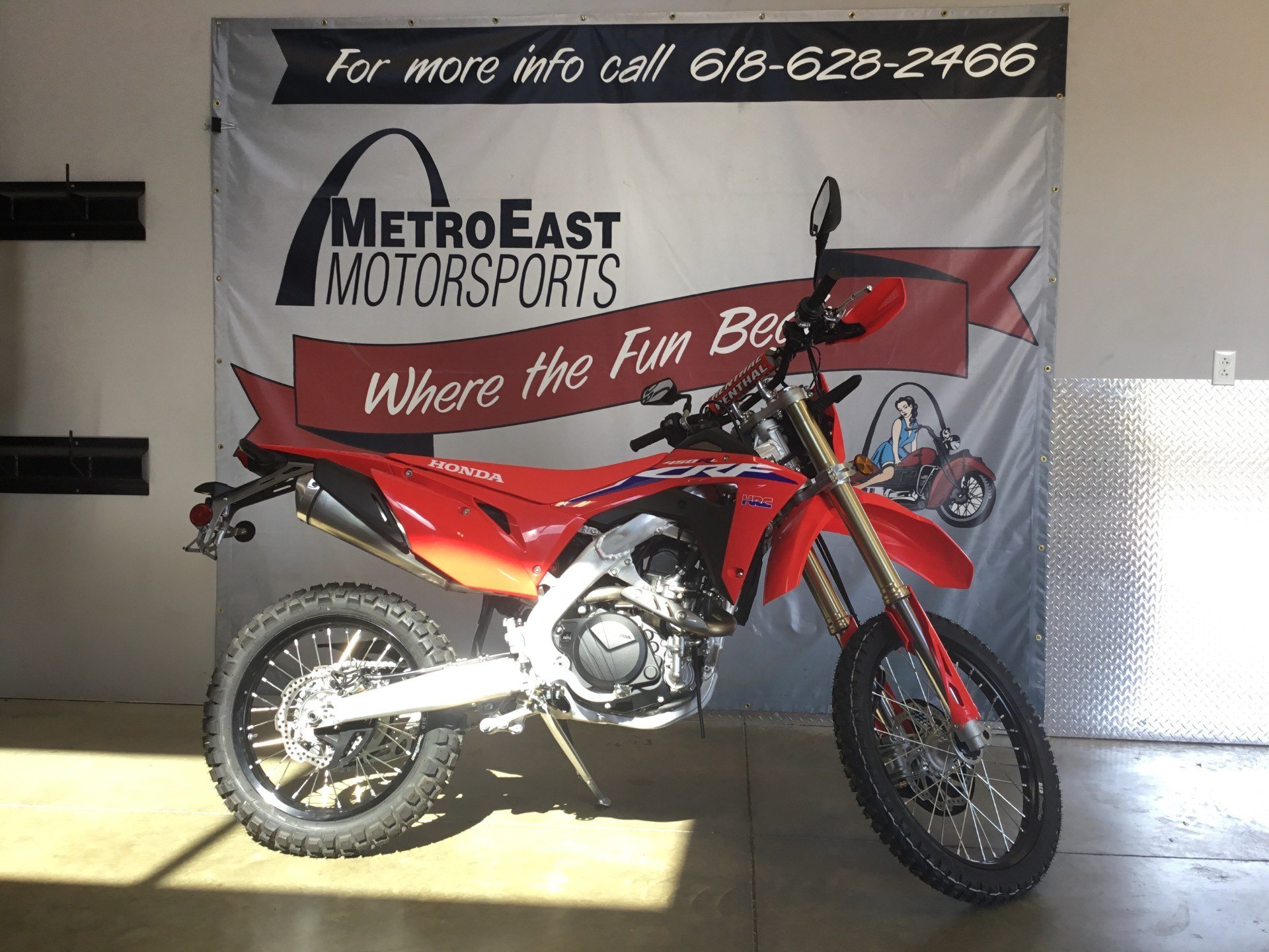 2021 Honda CRF450RL in O Fallon, Illinois - Photo 2