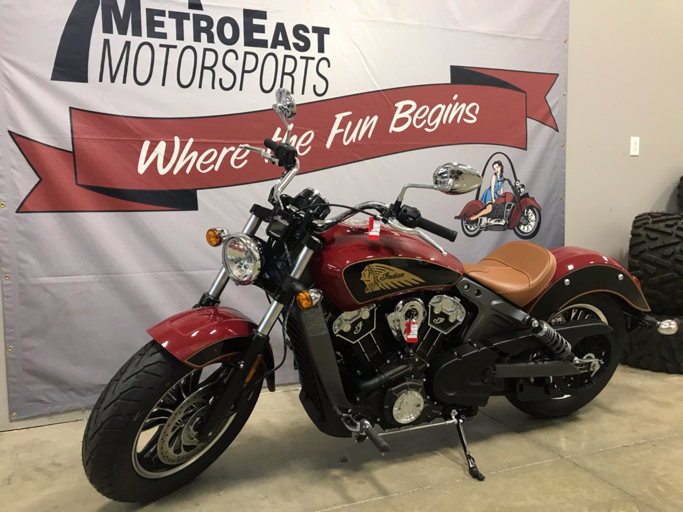 2019 Indian Scout® ABS in O Fallon, Illinois