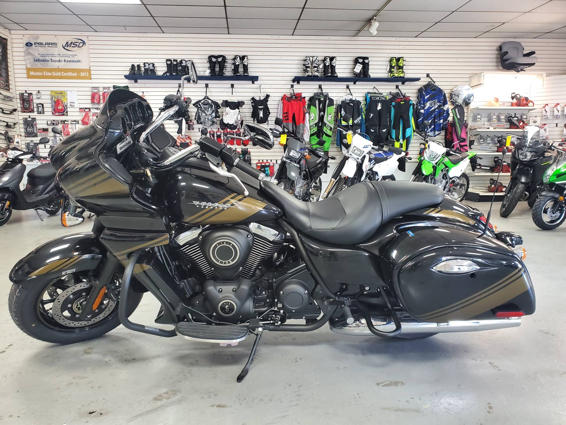 2019 Kawasaki Vulcan 1700 Vaquero ABS in Lebanon, Missouri - Photo 1