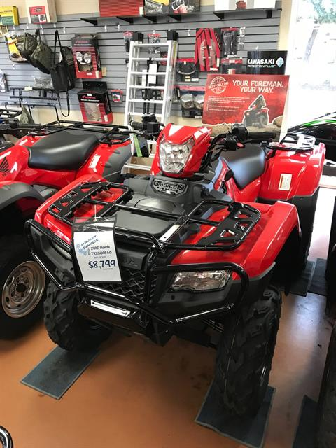 2018 Honda TRX500 in Arlington, Texas