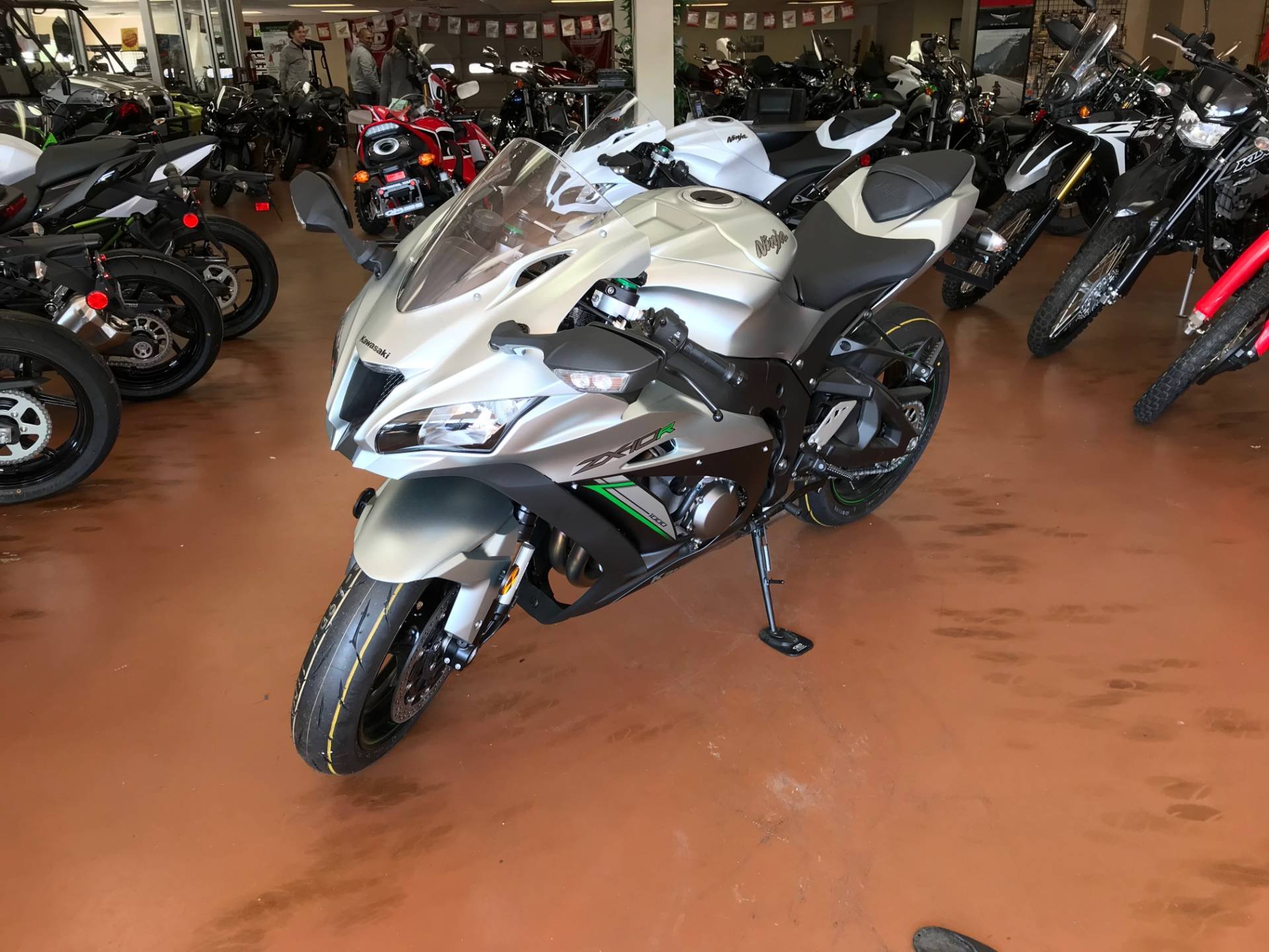 2018 Kawasaki NINJA ZX-10R ABS in Arlington, Texas