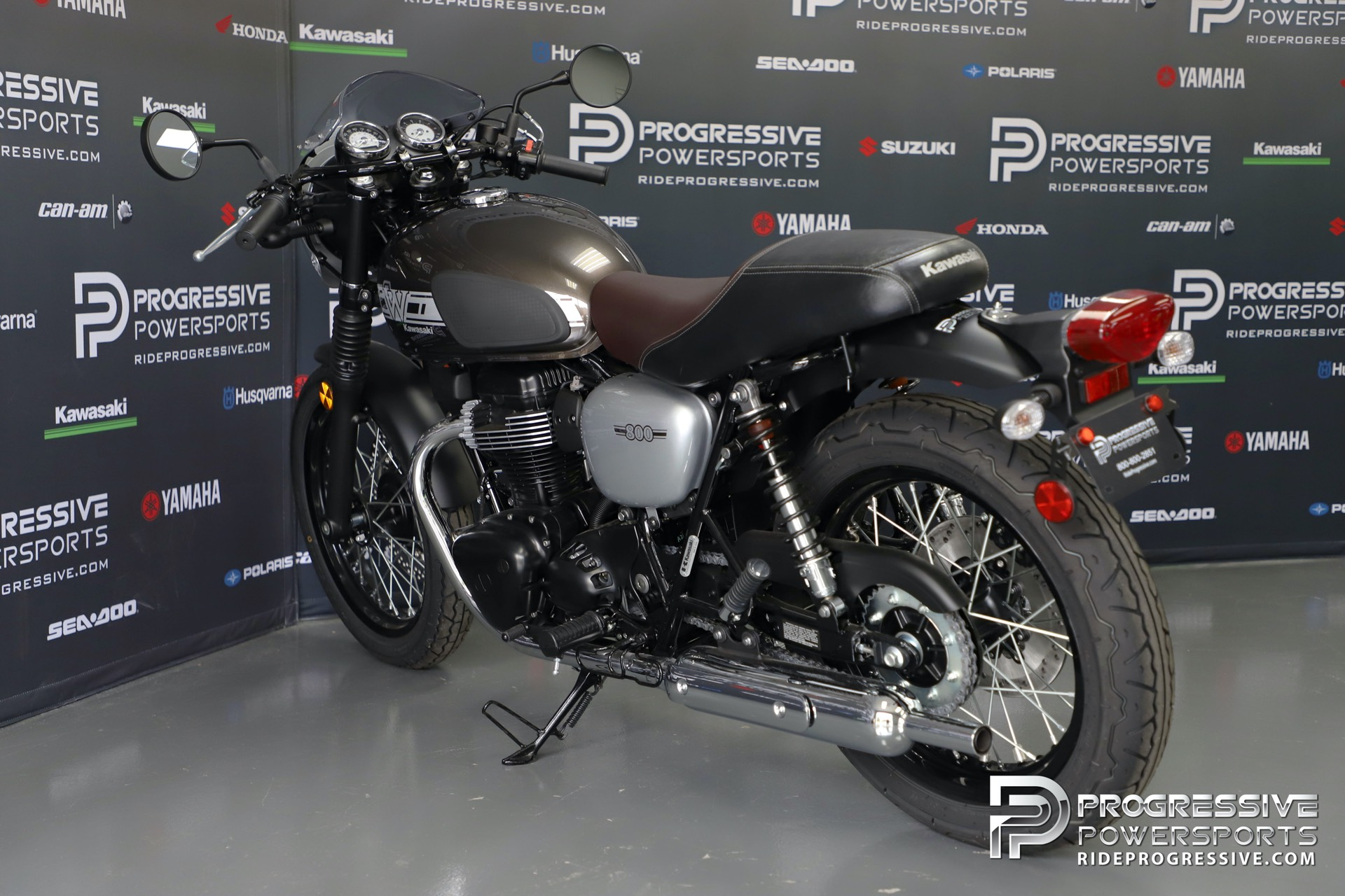 2019 Kawasaki W800 Cafe in Arlington, Texas - Photo 15