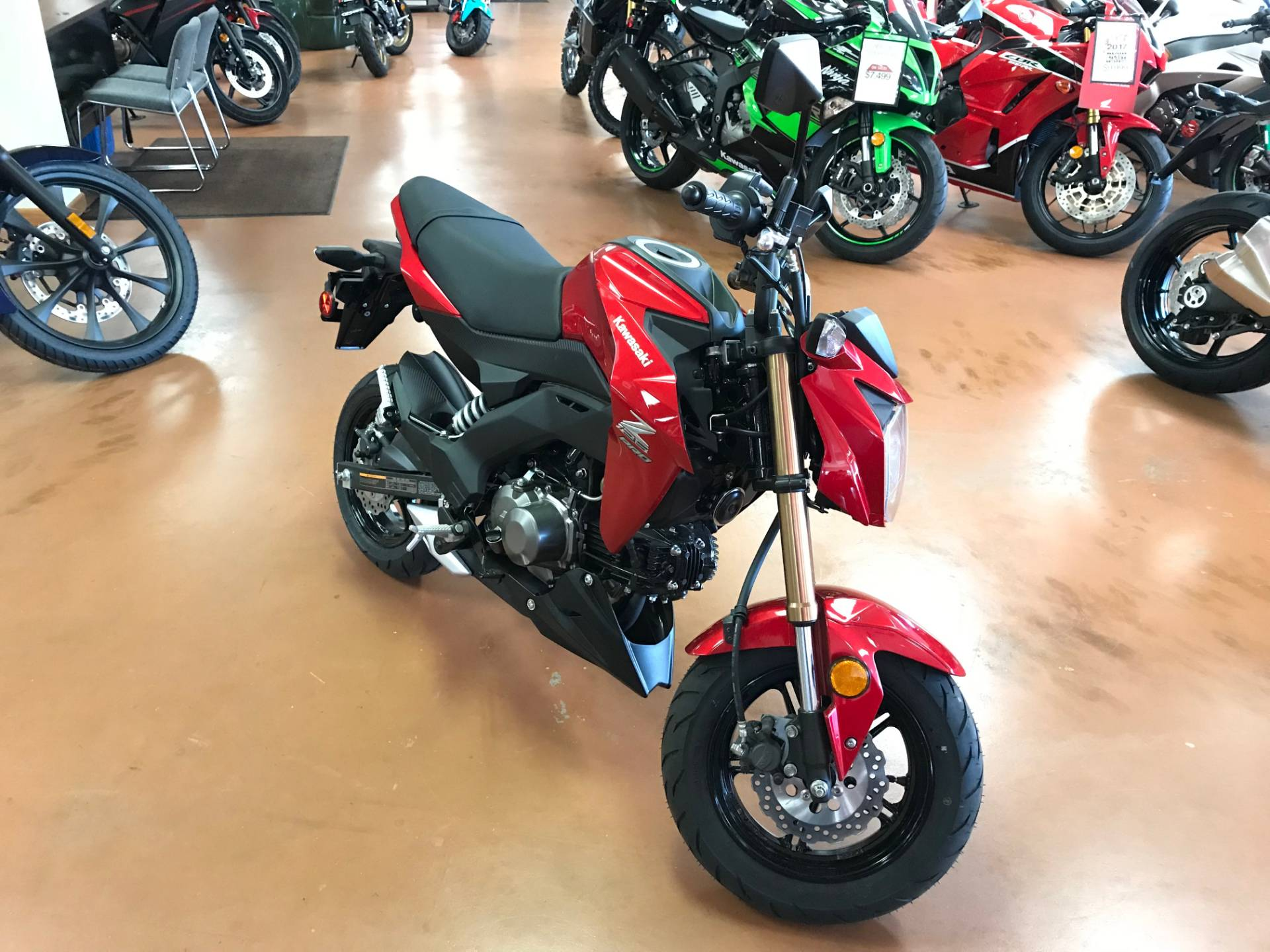 2018 Kawasaki Z125 PRO in Arlington, Texas - Photo 1