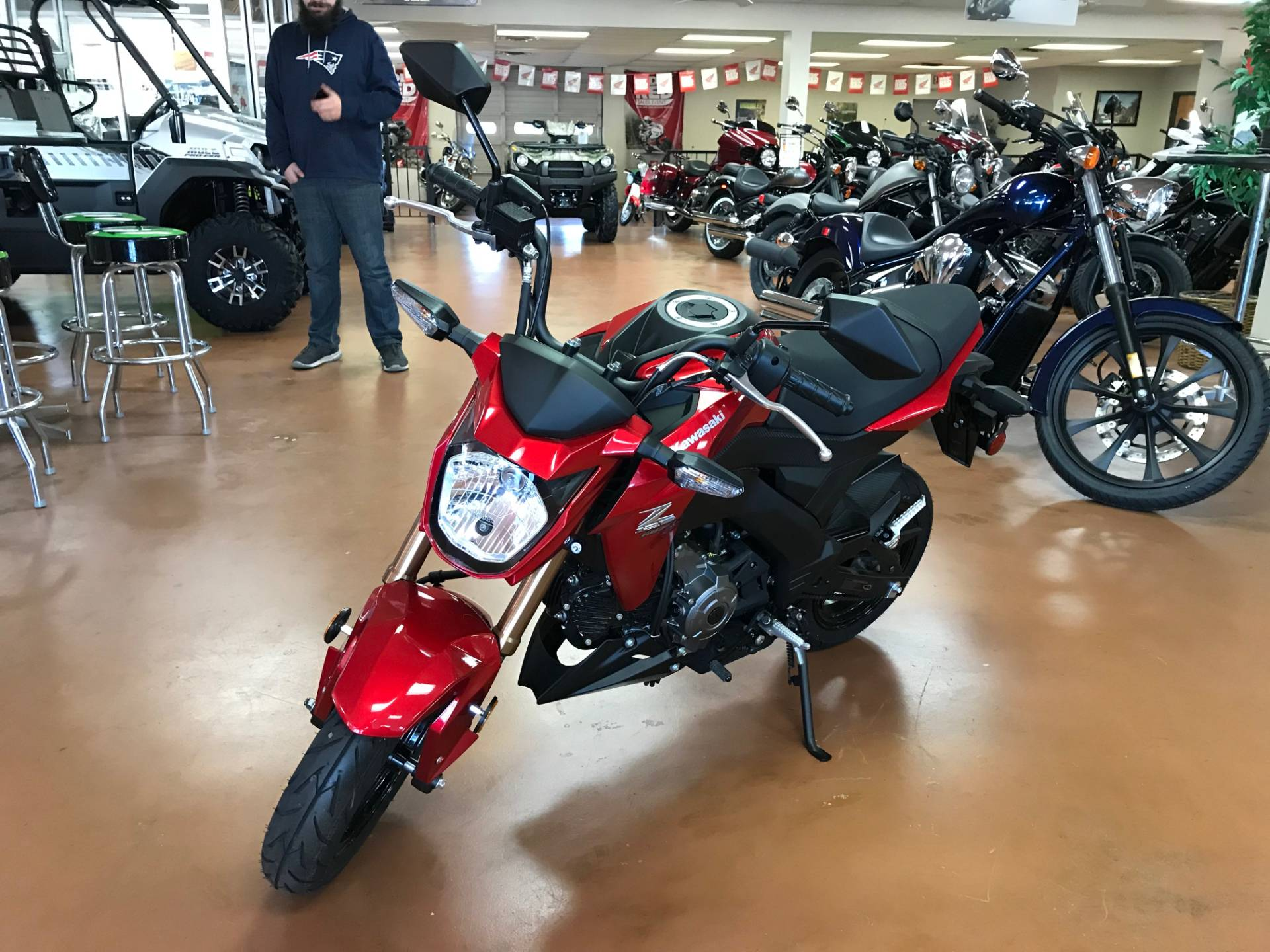 2018 Kawasaki Z125 PRO in Arlington, Texas - Photo 3