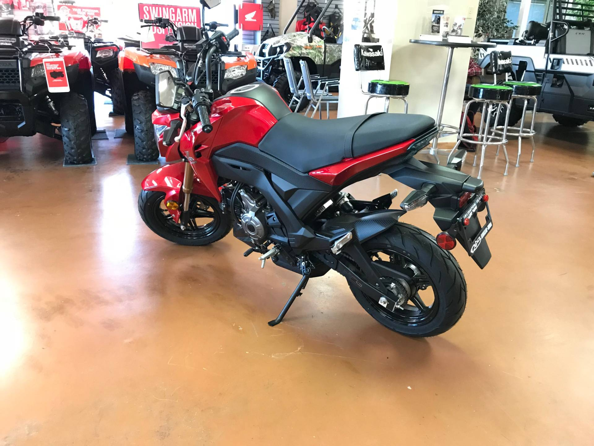 2018 Kawasaki Z125 PRO in Arlington, Texas - Photo 5