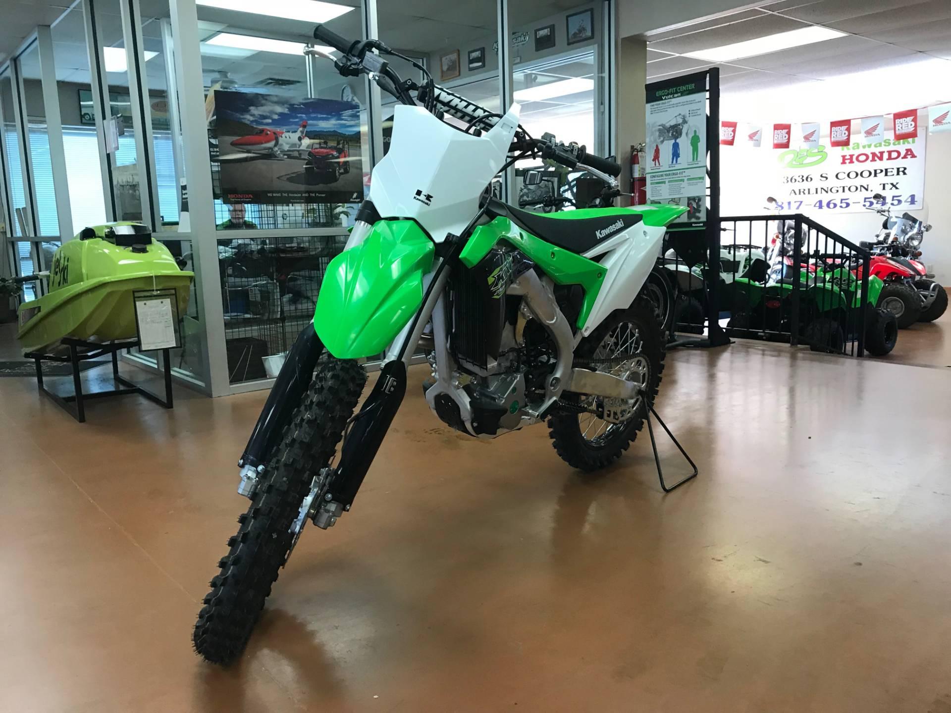 2018 Kawasaki KX250F 2