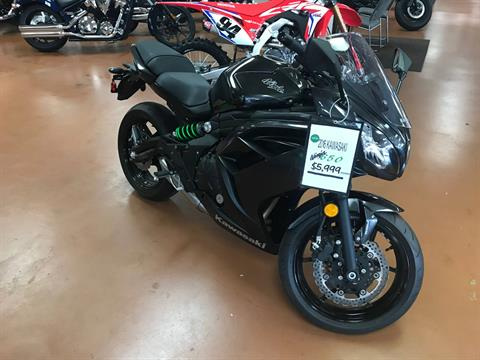 2016 Kawasaki Ninja 650 ABS in Arlington, Texas