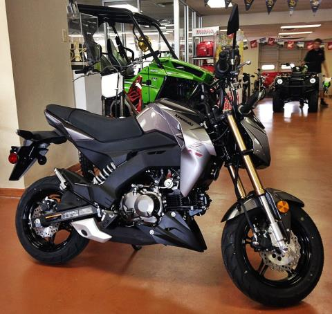 2017 Kawasaki Z125 Pro in Arlington, Texas