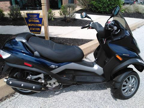 2009 Piaggio MP3 400 in West Chester, Pennsylvania