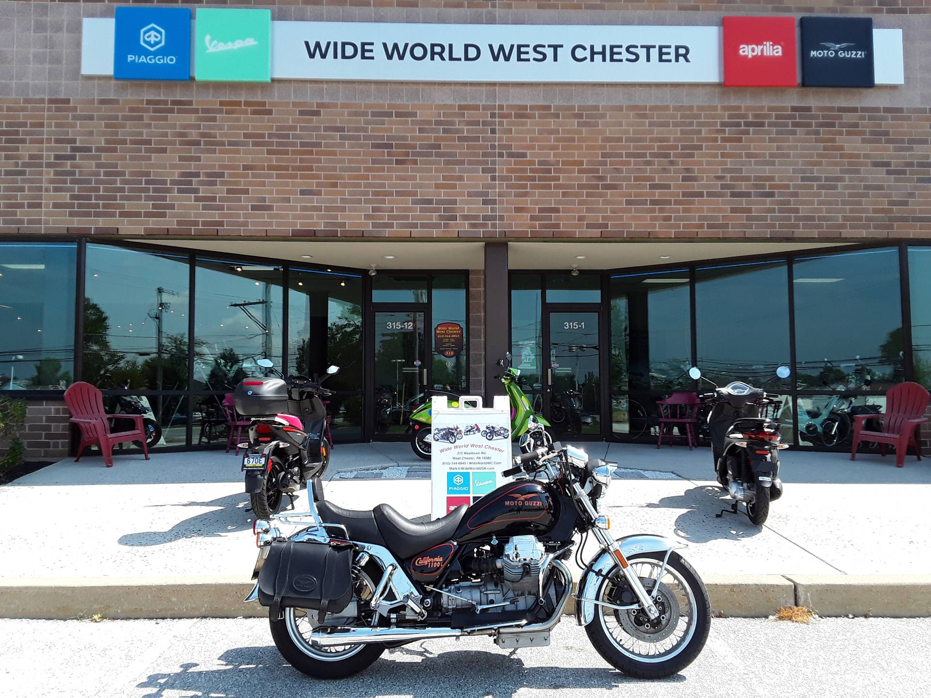 1995 Moto Guzzi California in West Chester, Pennsylvania